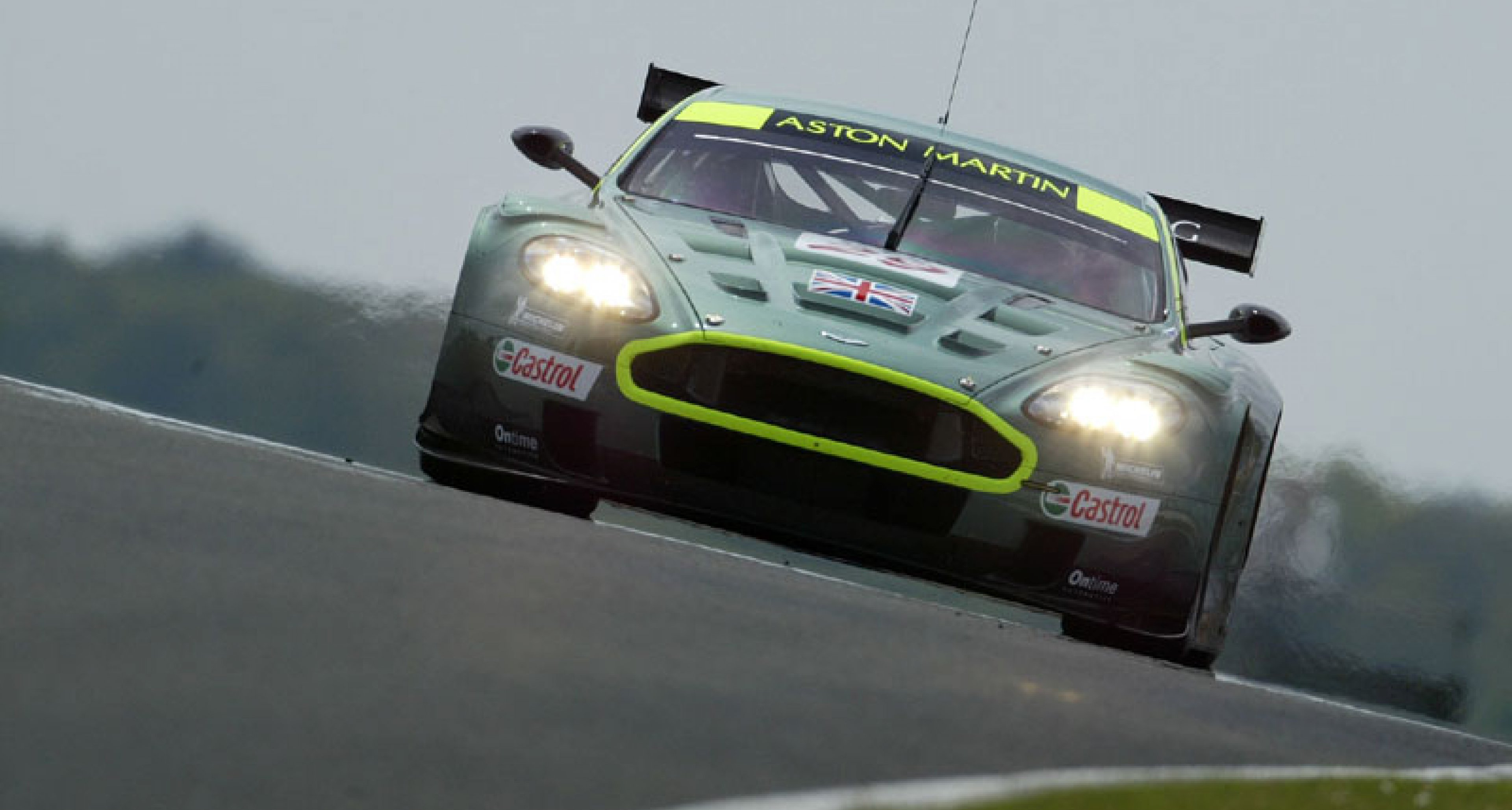 Royal Automobile Club TT - 1st and 2nd for Aston Martin