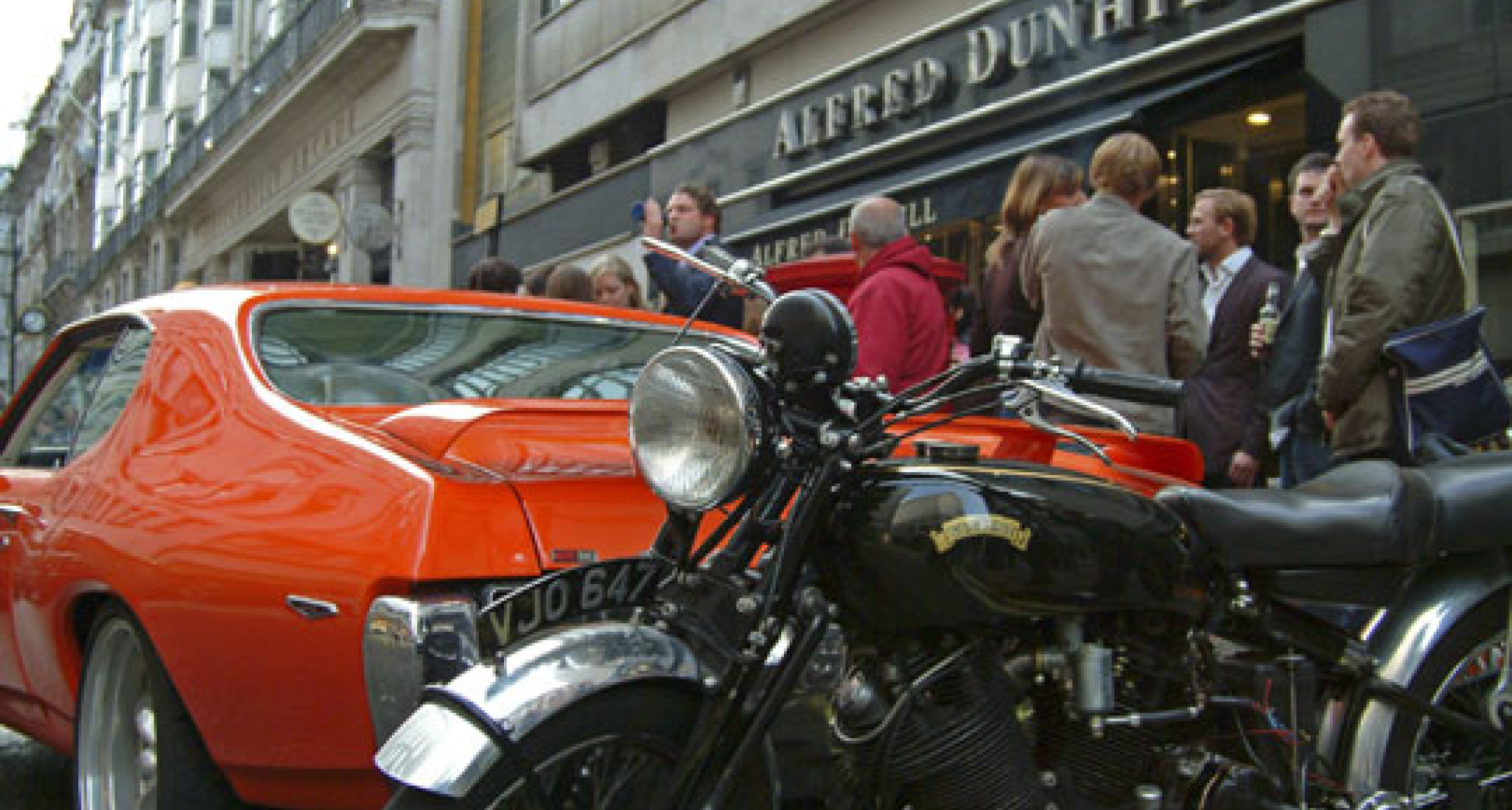 Keep your motor running - a celebration of dunhill's Motorities