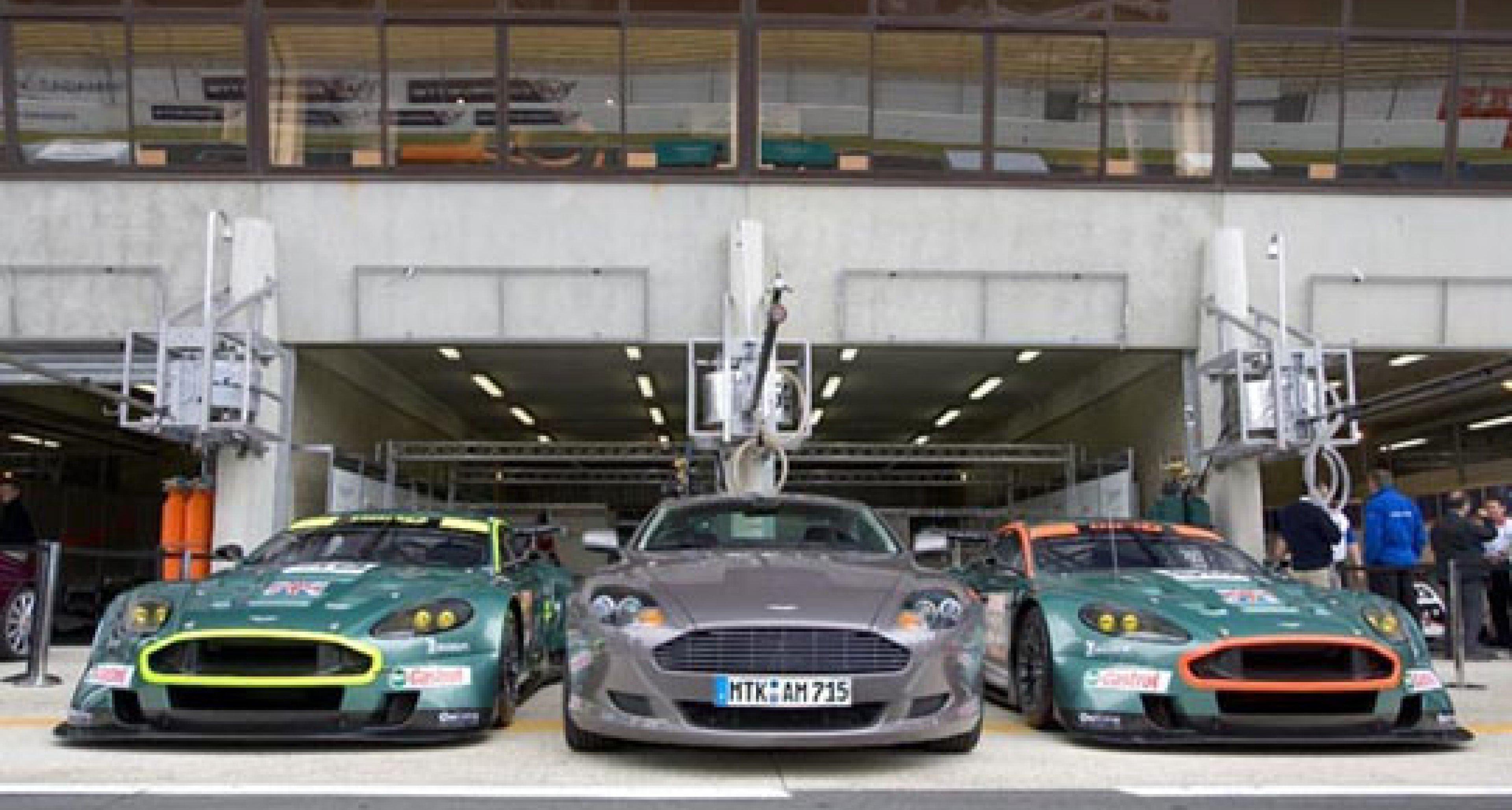Aston Martin Racing at Le Mans 2005