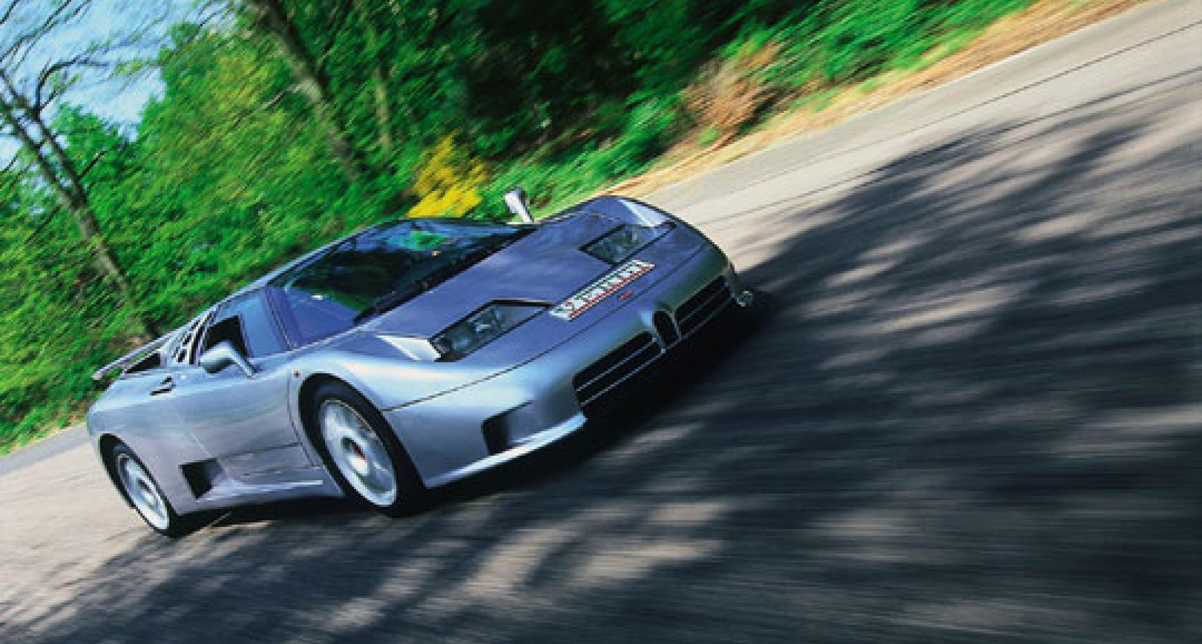 Bugatti EB110SS - The Forgotten Supercar