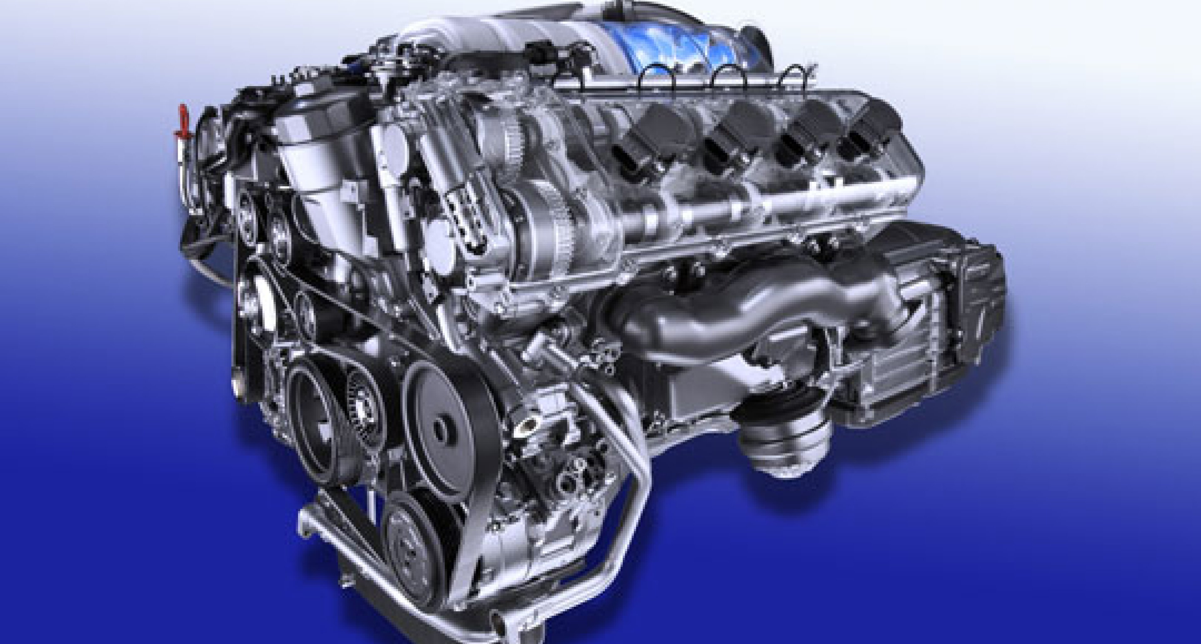 New AMG V8 engine with 510 hp