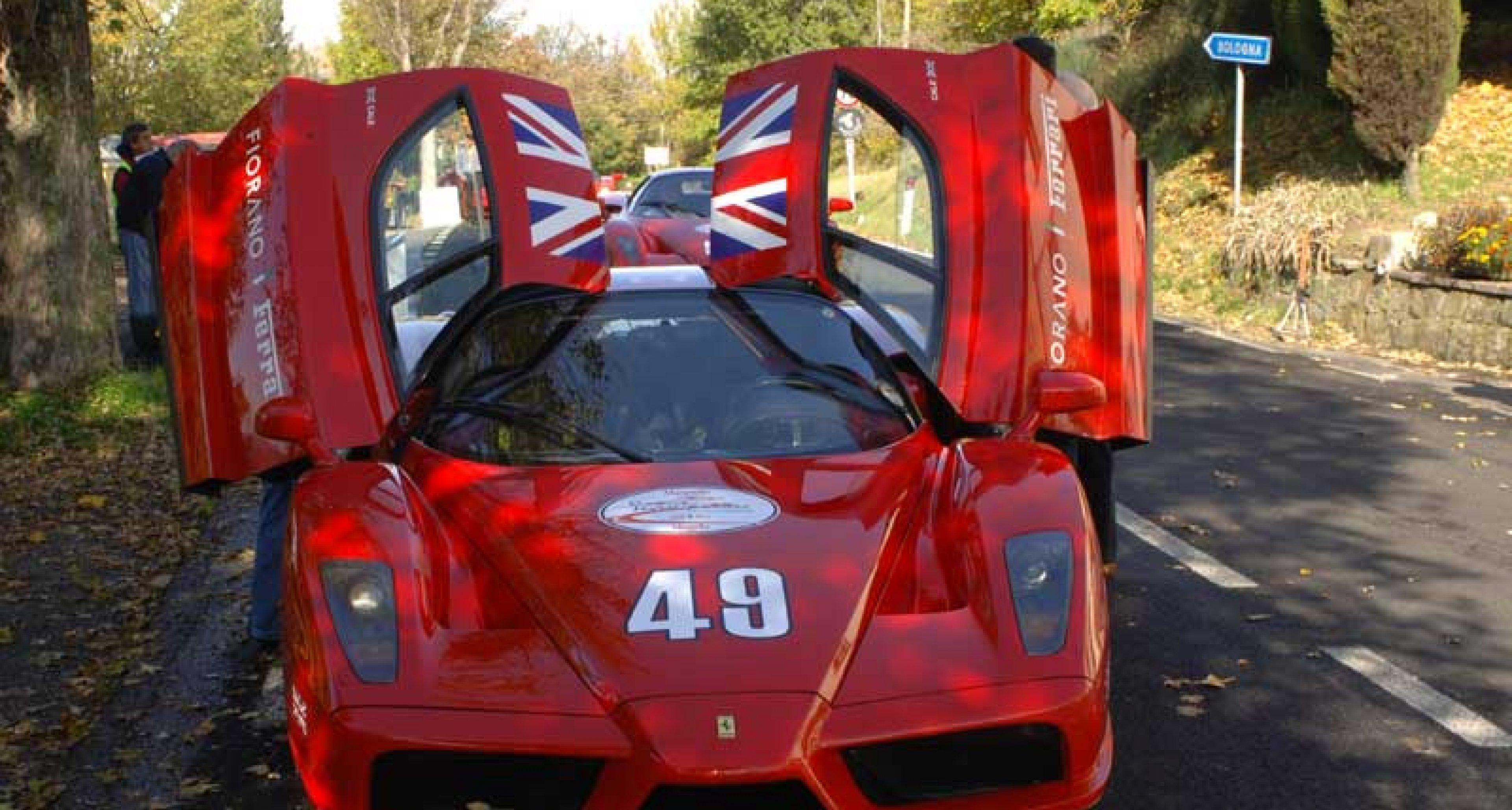 The Ferrari Enzo Tour 2005