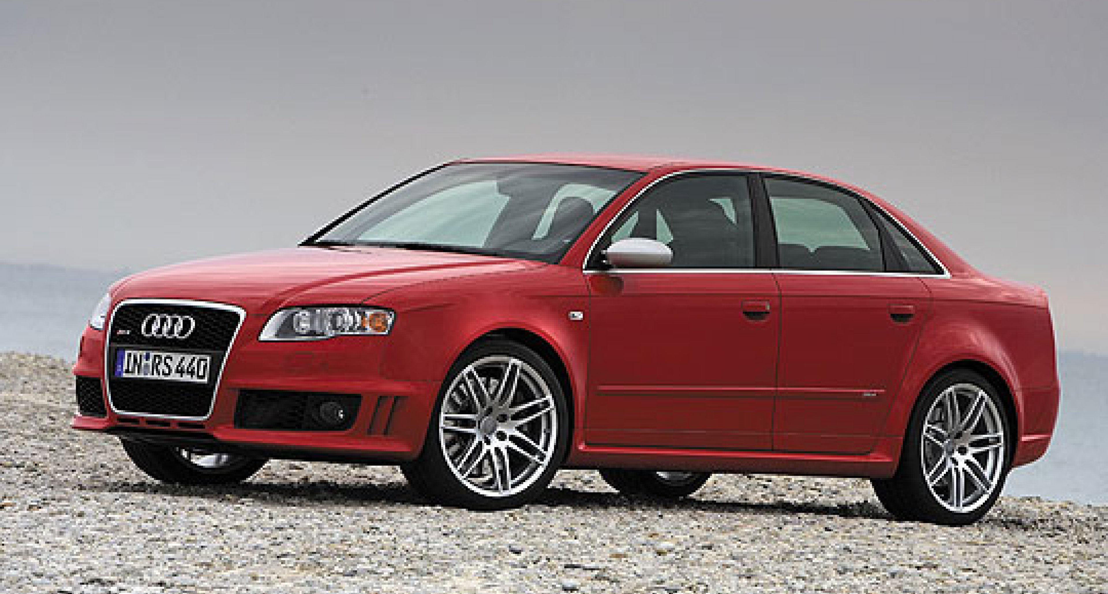 Audi RS4  - coming to a showroom near you soon