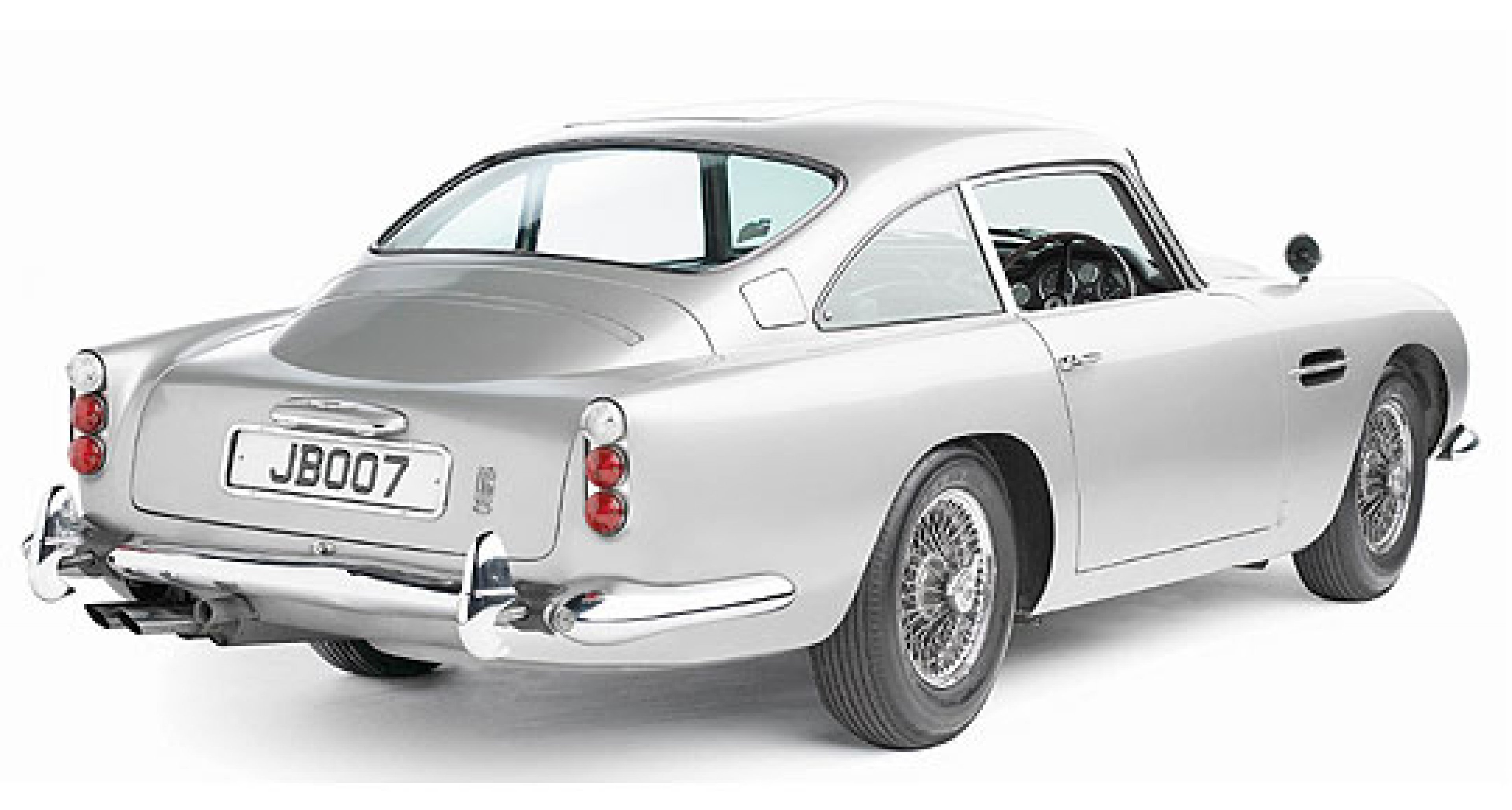 Original 'Bond' DB5 to be sold in 2006