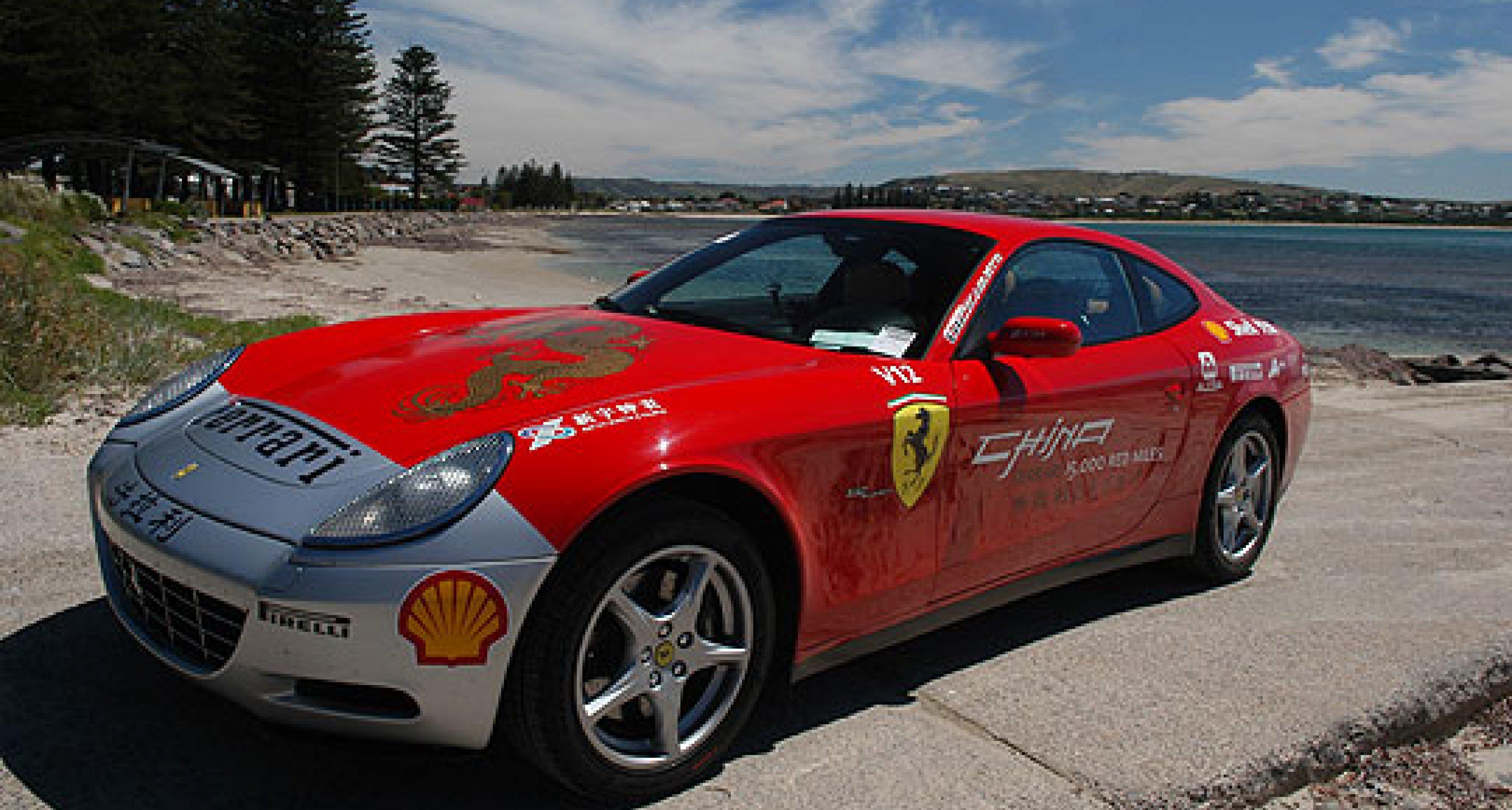 Australien feiert Ferrari
