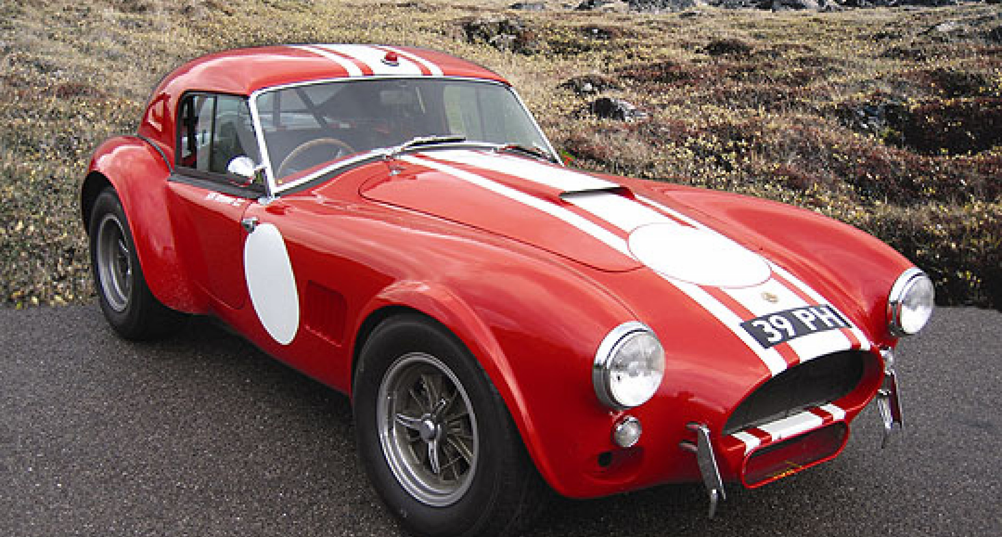 Historic Cobra to be auctioned next year