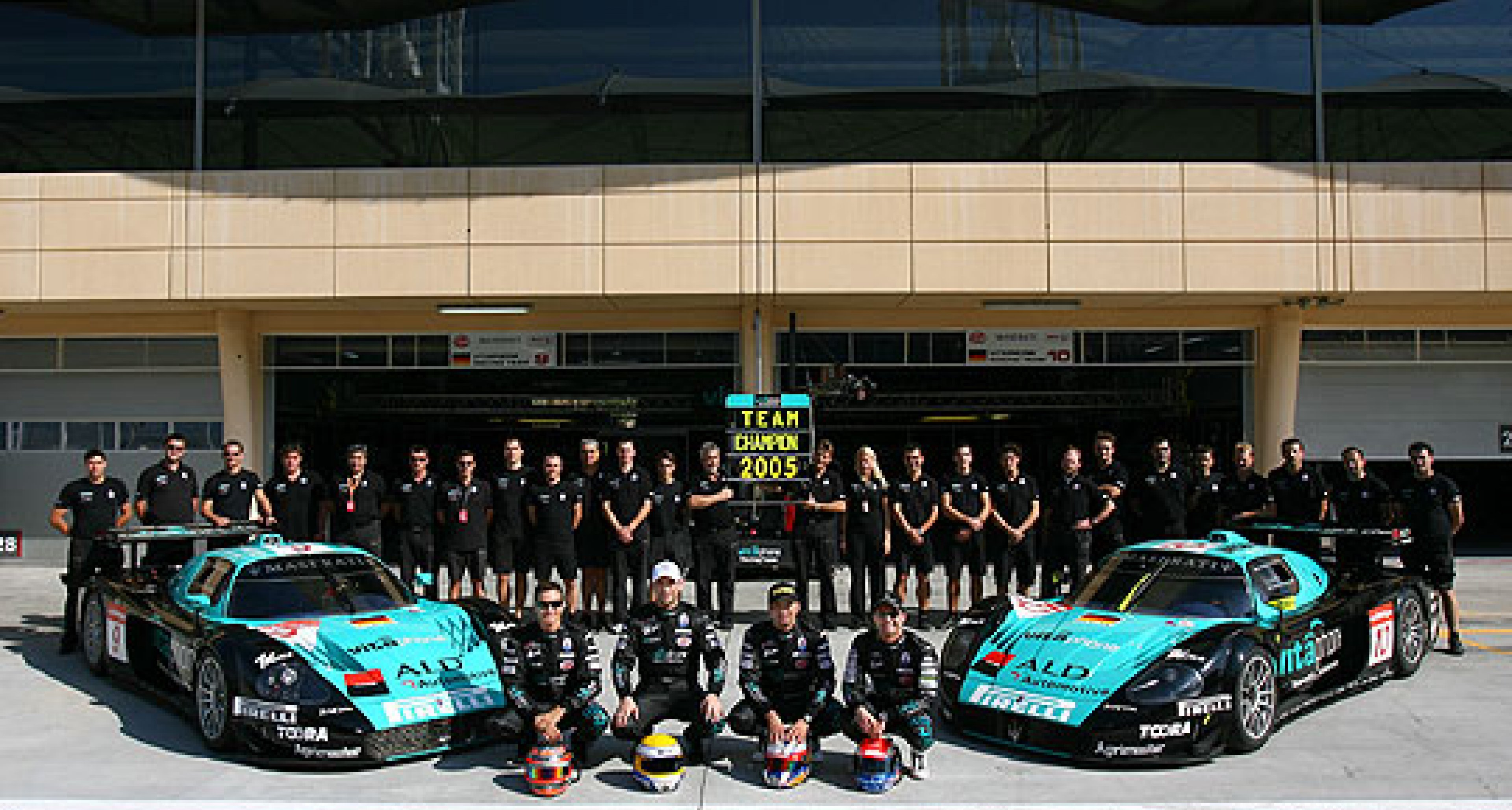 First privateer win for Aston Martin DBR9