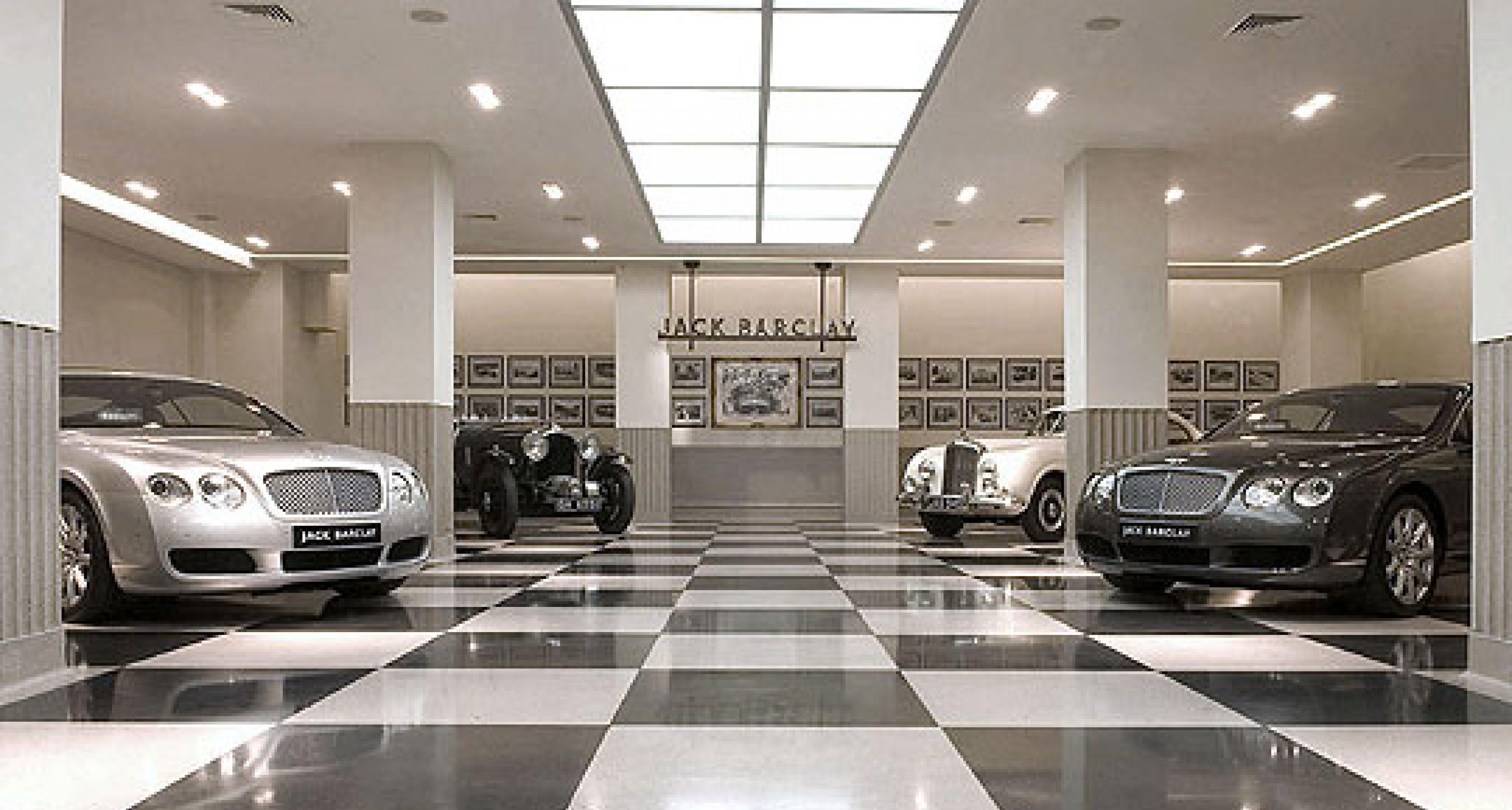 Jack Barclay - London Flagship showroom has £2m refurbishment