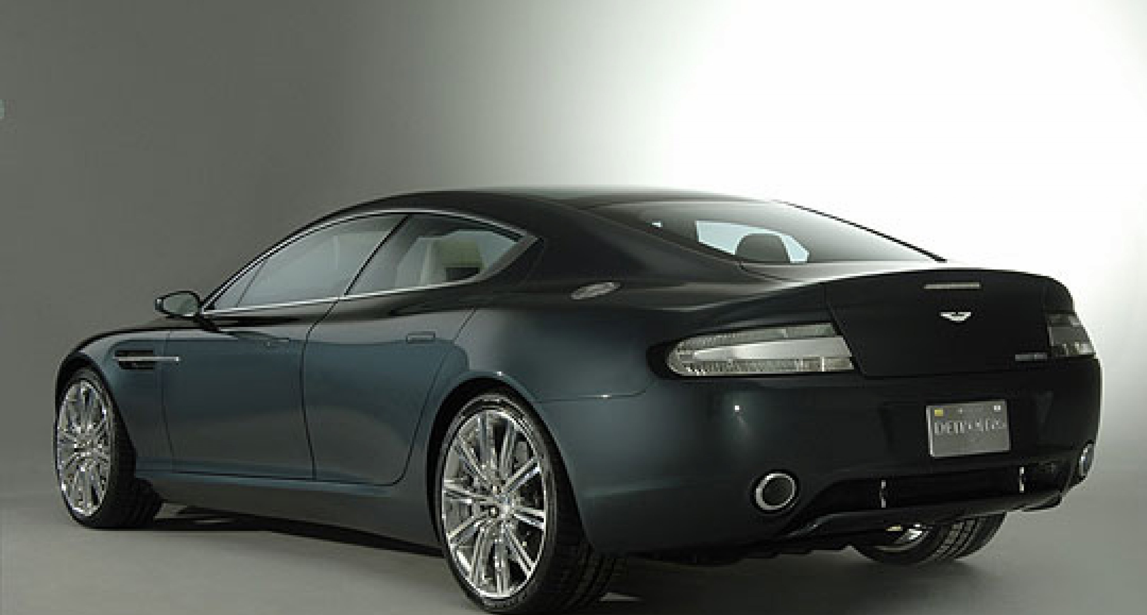 Aston Martin Rapide launched at Detroit