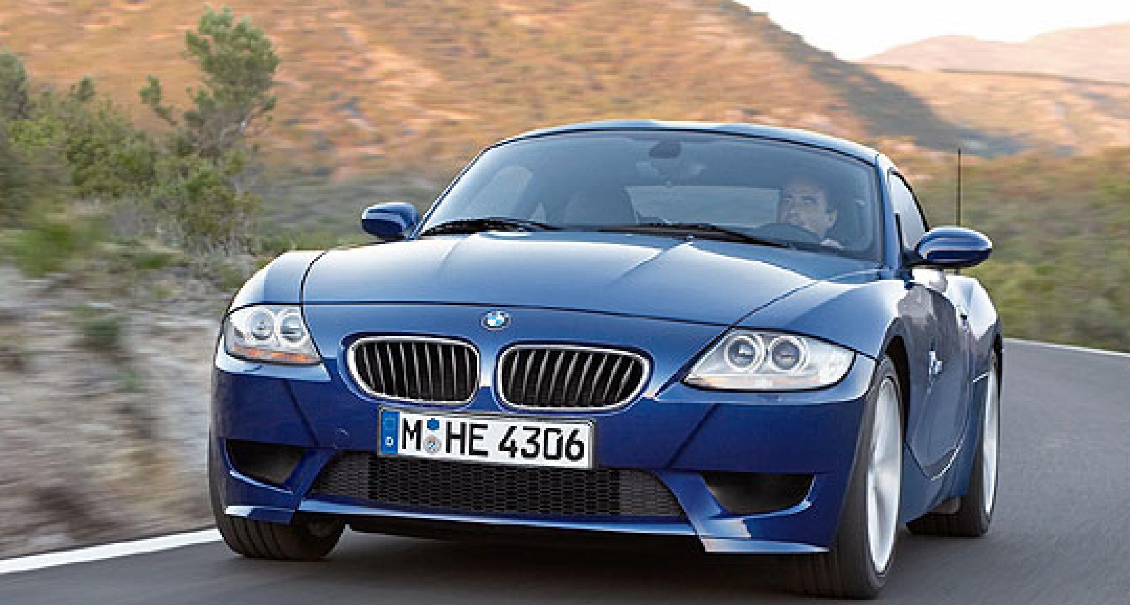 The new BMW Z4 Coupé