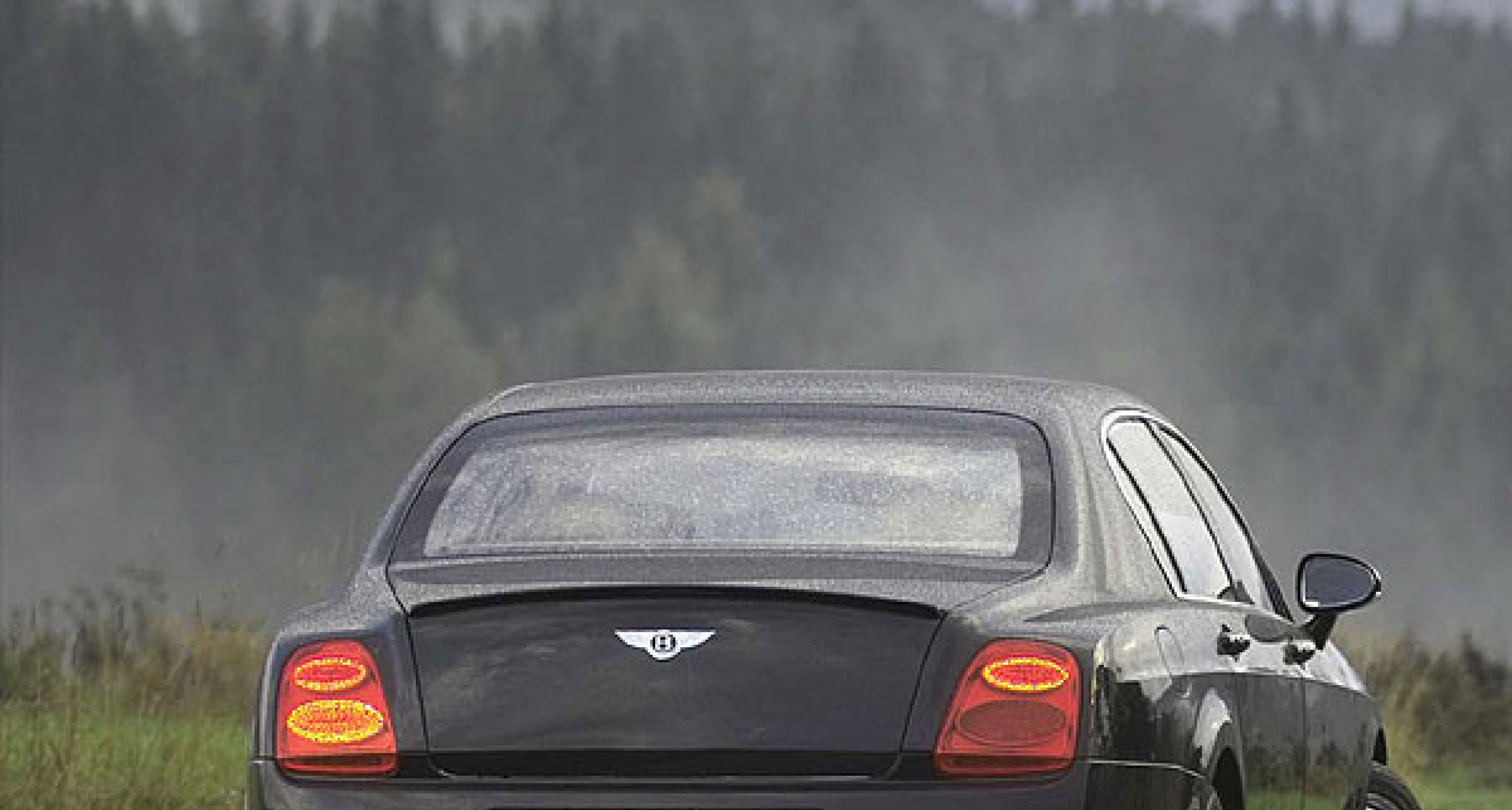 Flying Spur gets extra lift