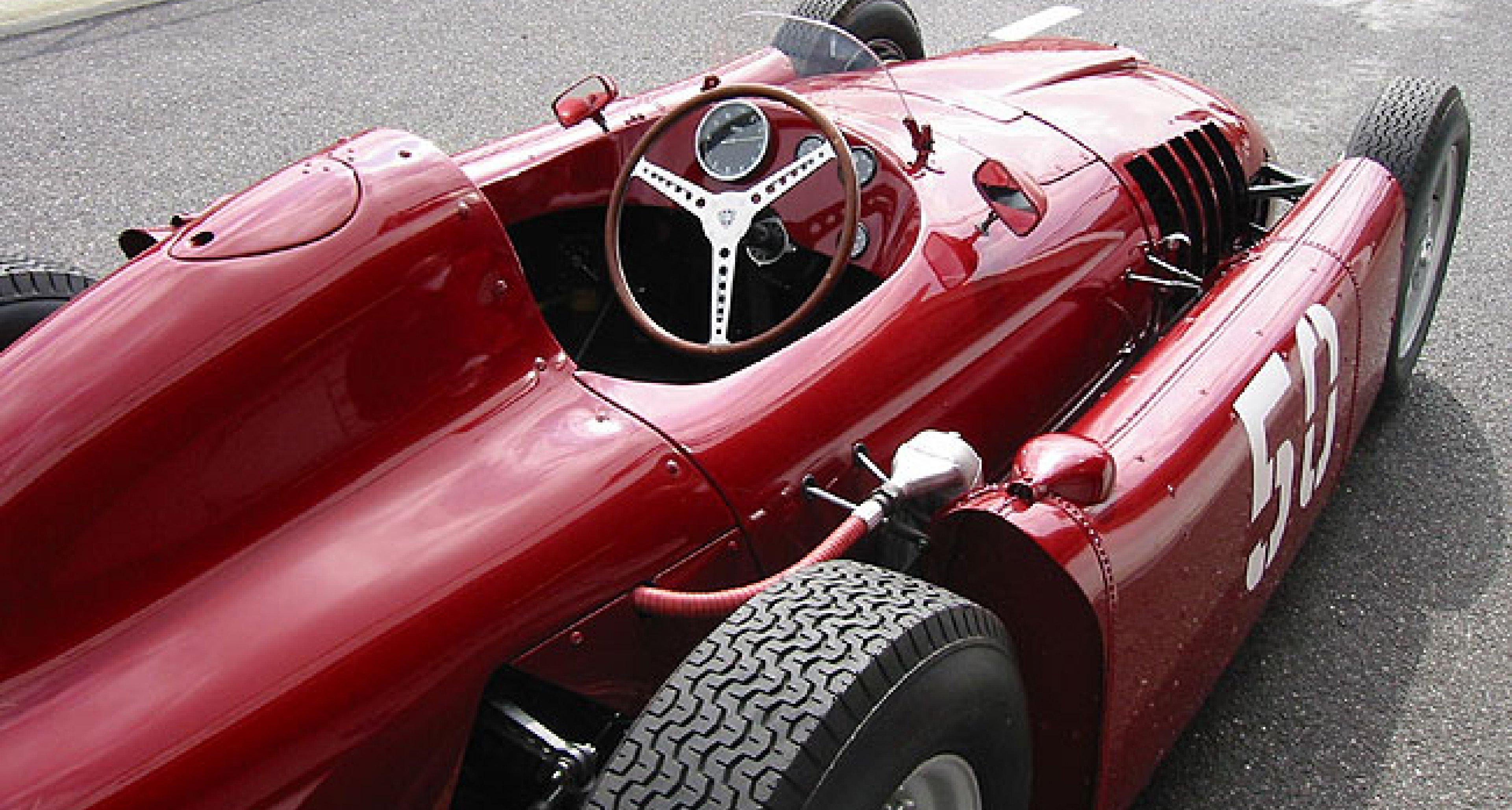 Recreation of the Lancia D50 Grand Prix Car