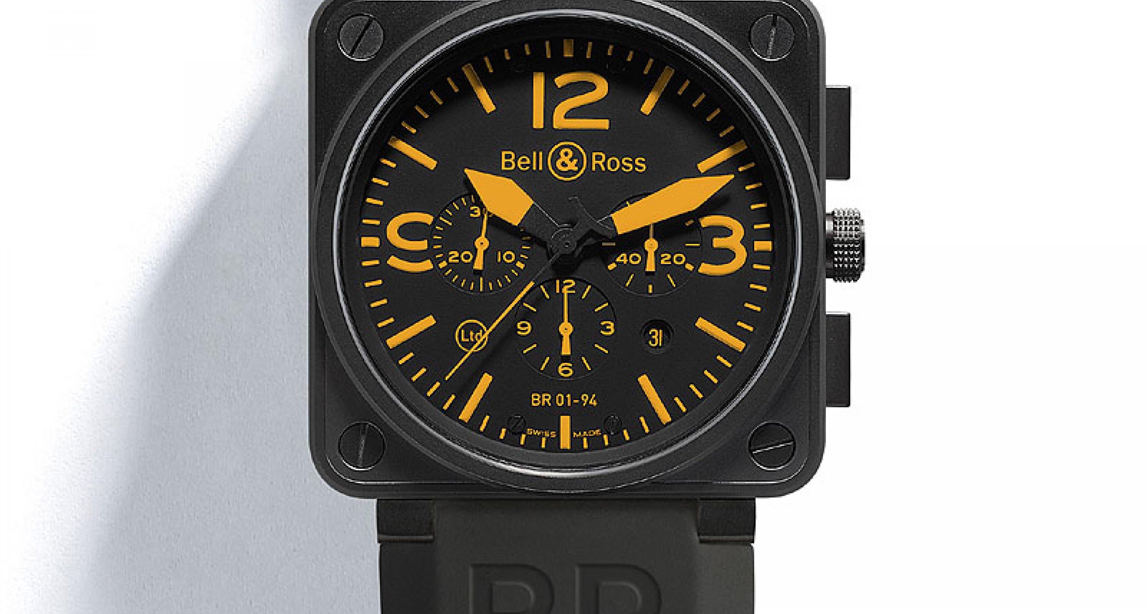 Bell&Ross Instrument BR01: Funktion bestimmt Form