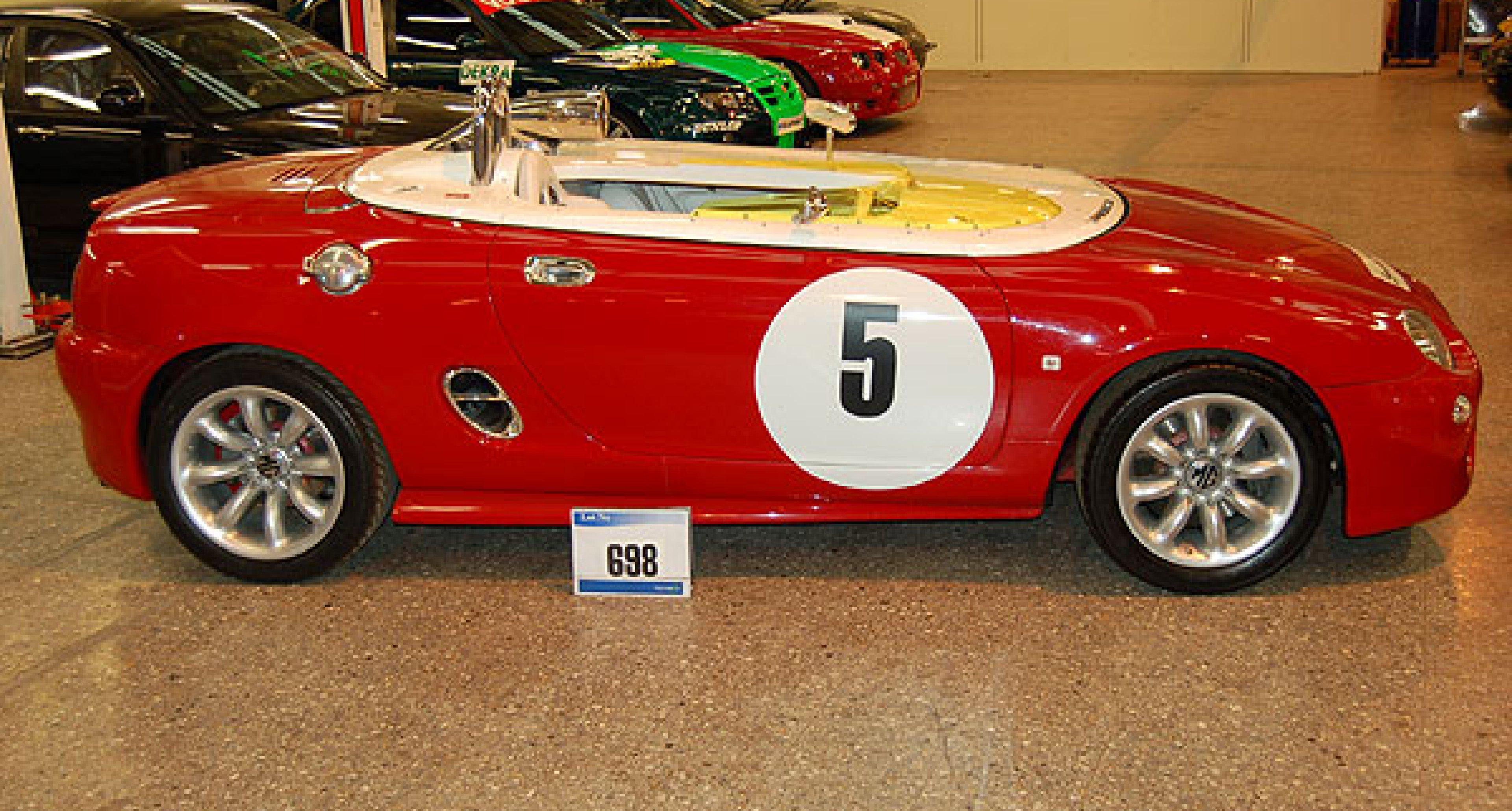 MG Rover Werksauktion 2006: Ausverkauf einer Legende
