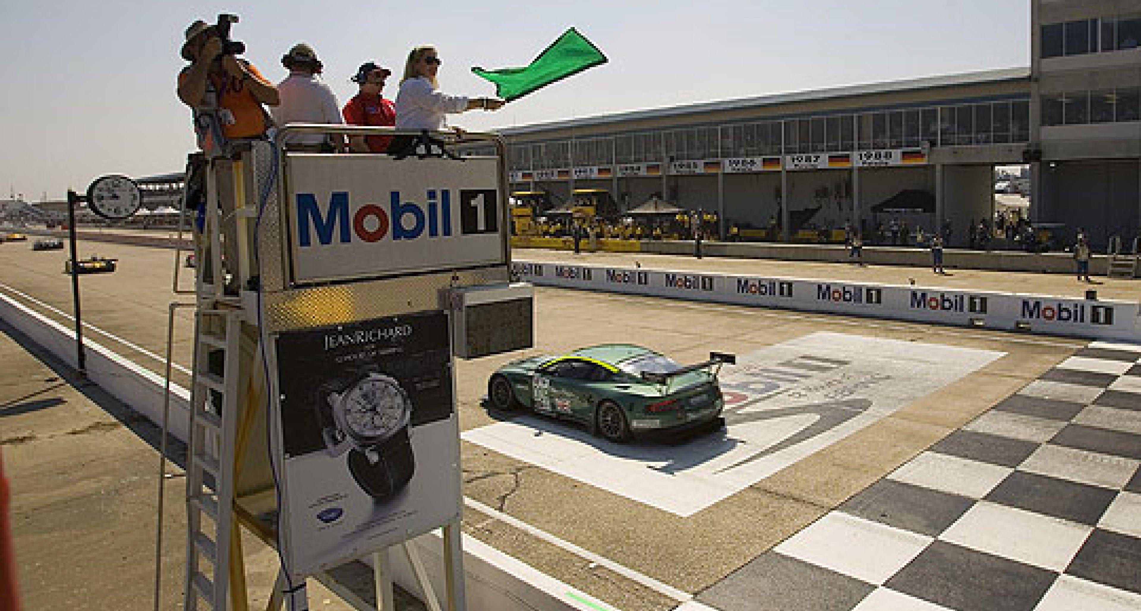 Aston Martin Racing at  Sebring 2006 - Not Close Enough
