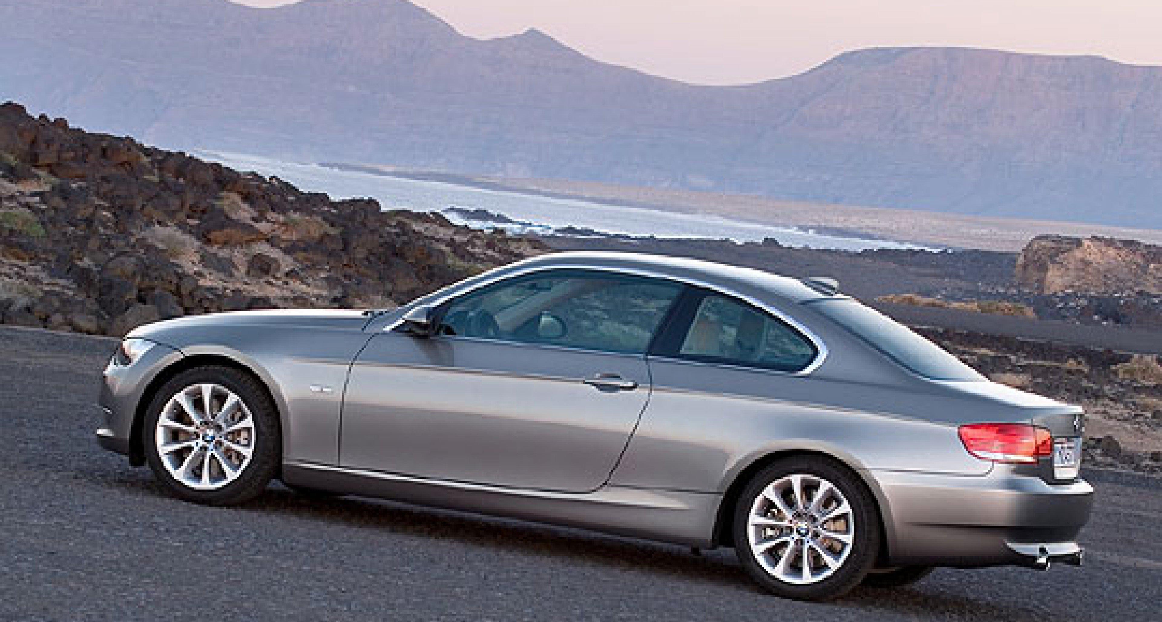 New BMW 3-Series Coupé