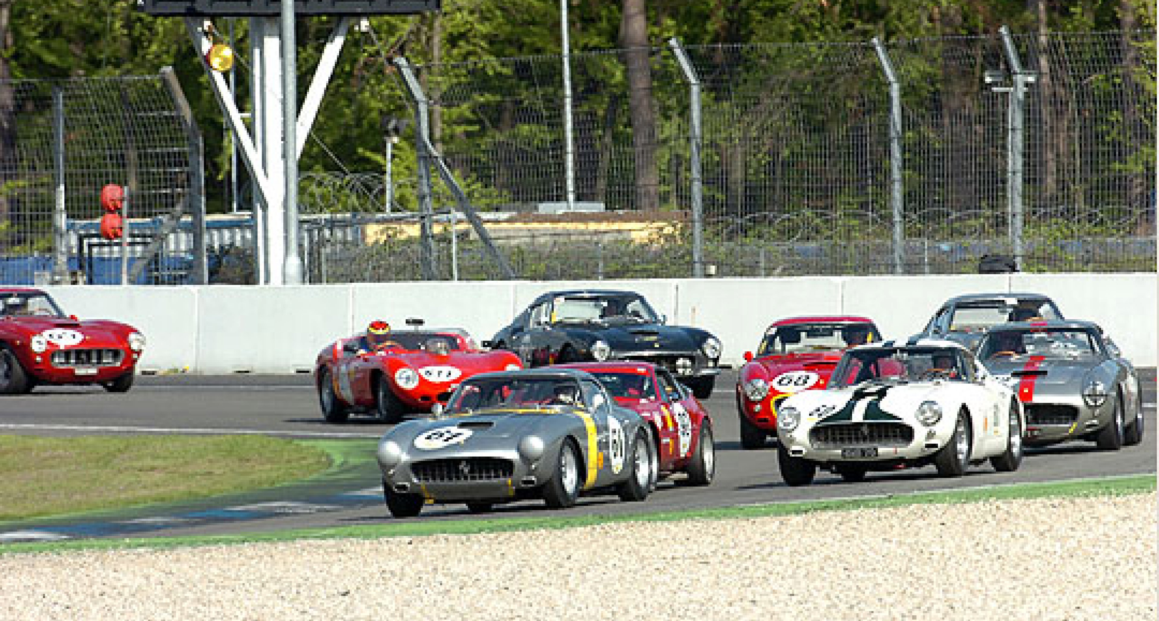 European Shell Ferrari Historic Challenge - Germany