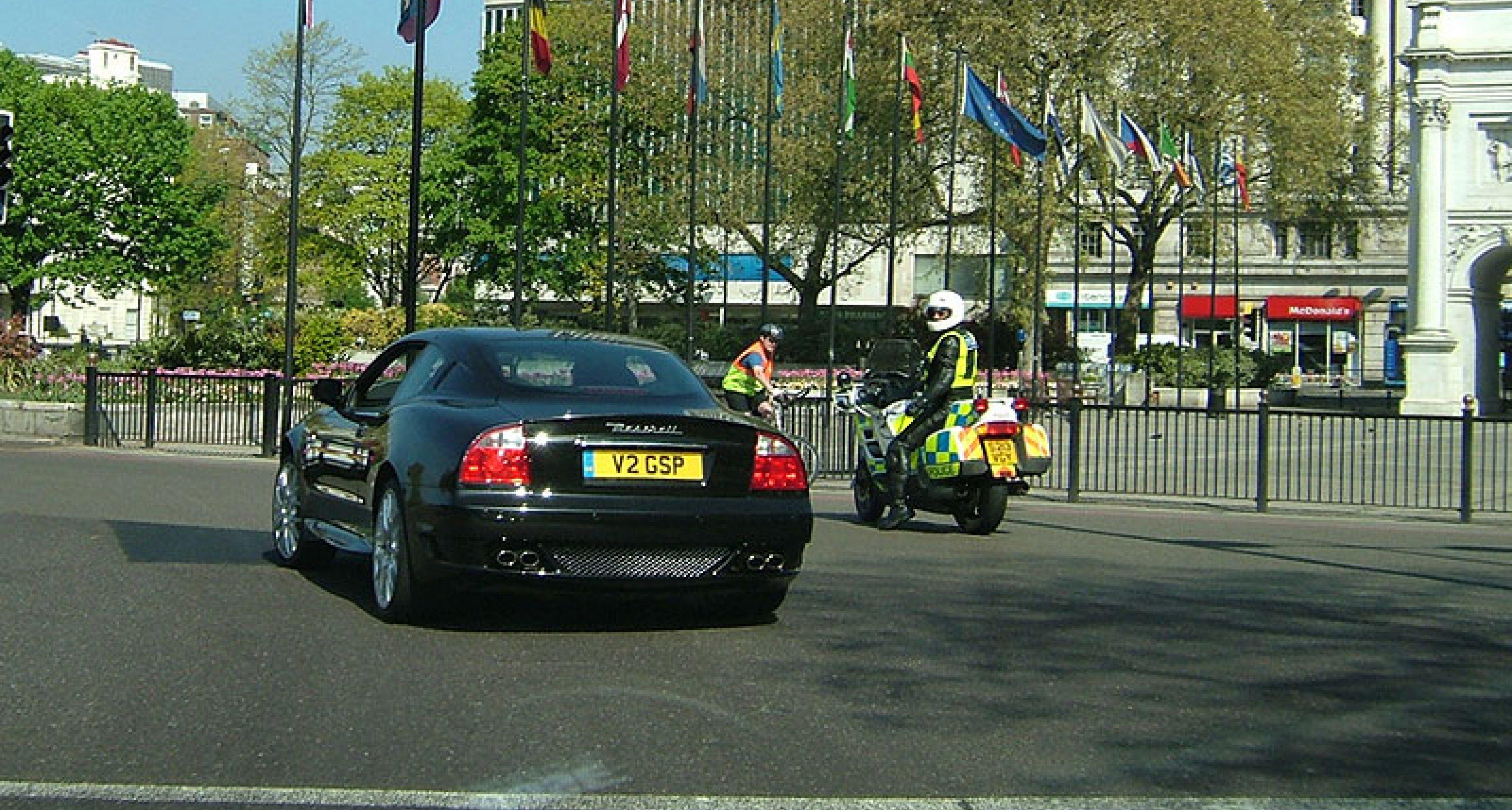 Quattroporte on the Supercar Tour 2006