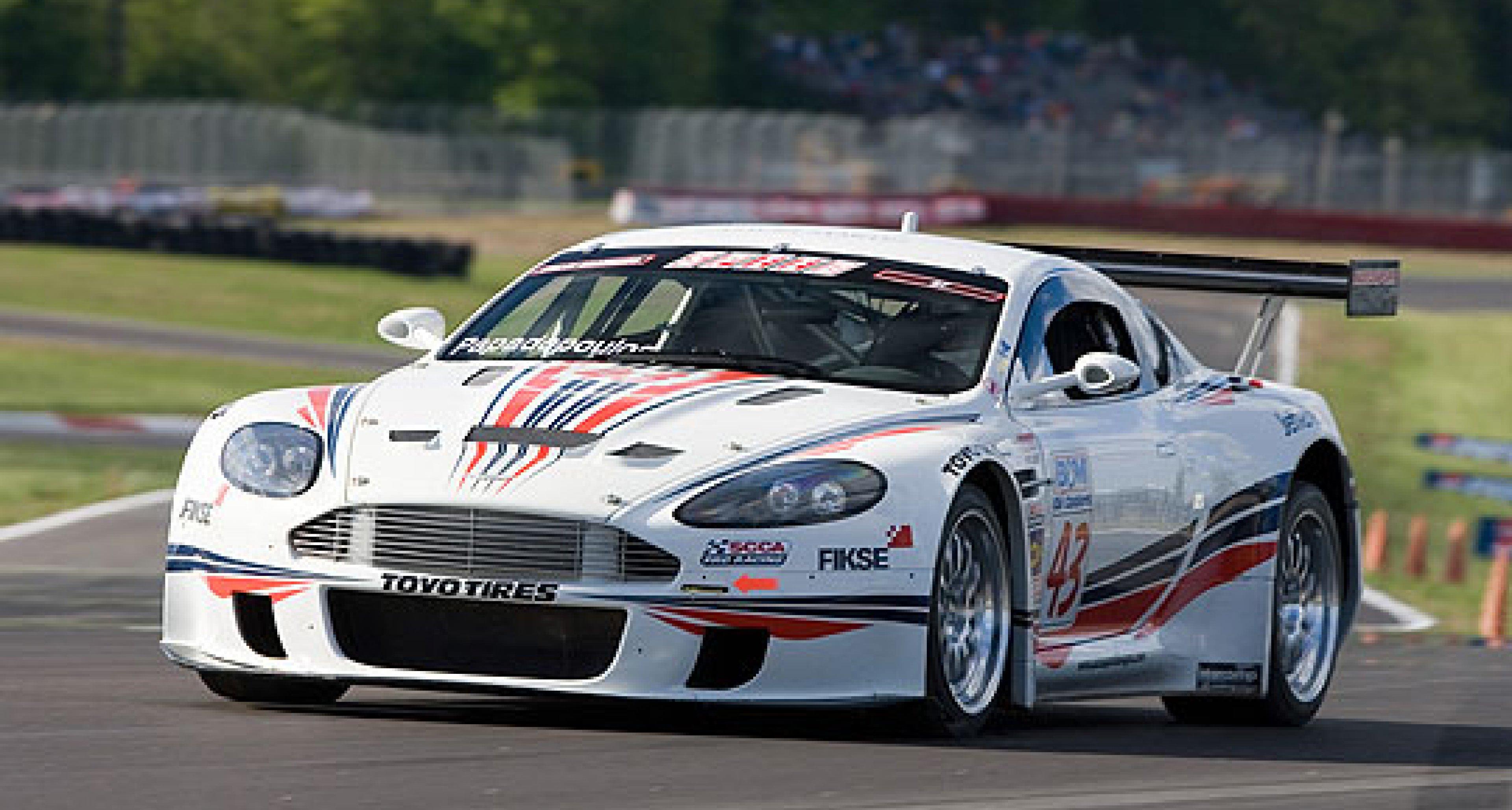 Autosport Designs Aston Martin DBRS9s at Mid-Ohio 2006