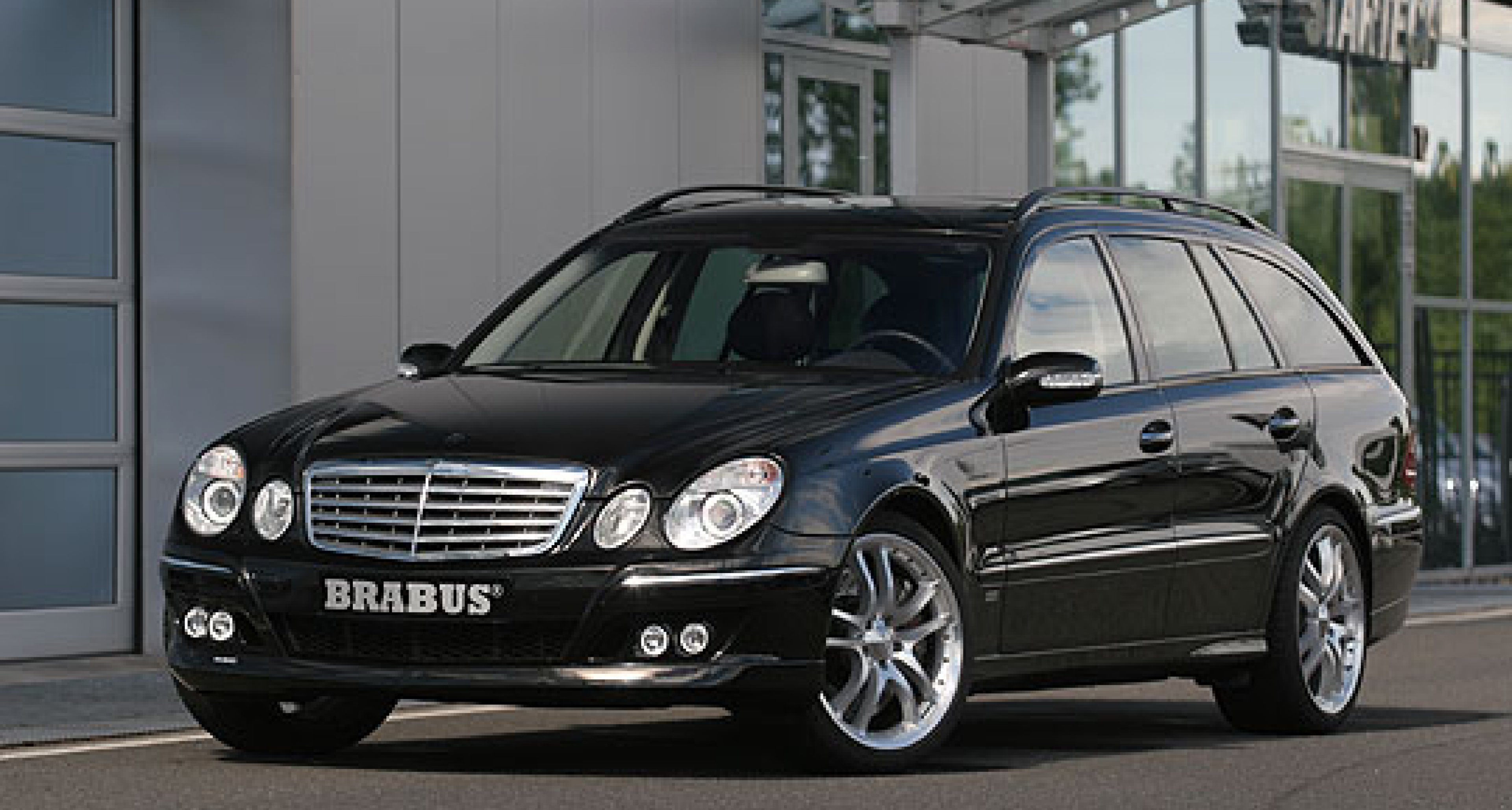 BRABUS tuning for the updated  E-Class