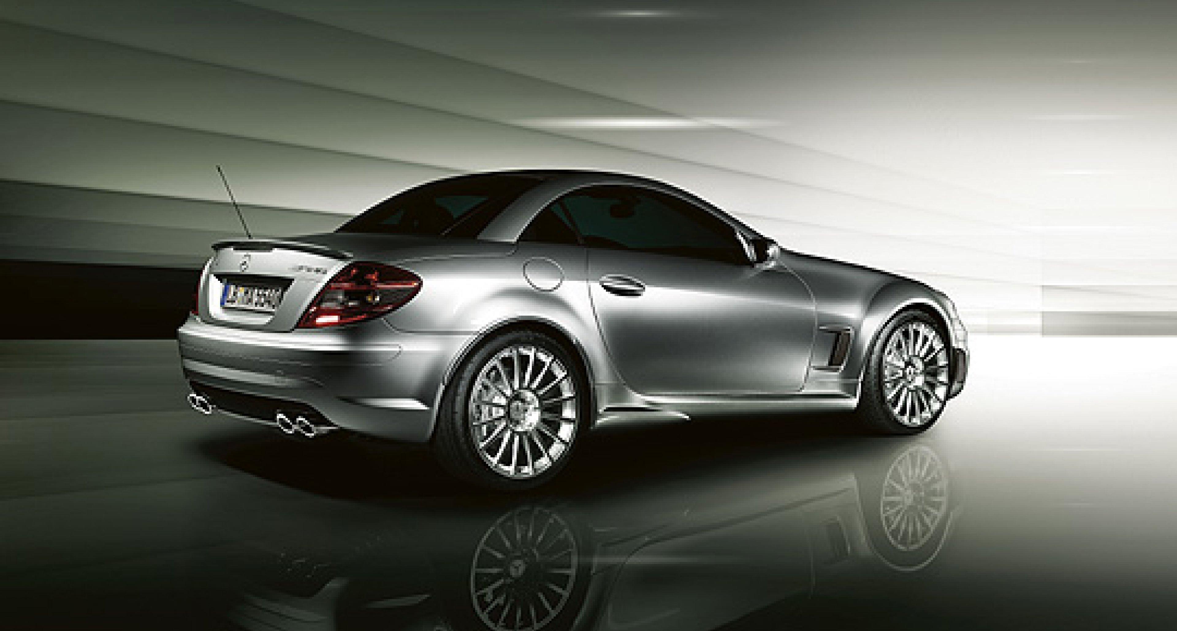 The Mercedes-Benz SLK 55 AMG special series
