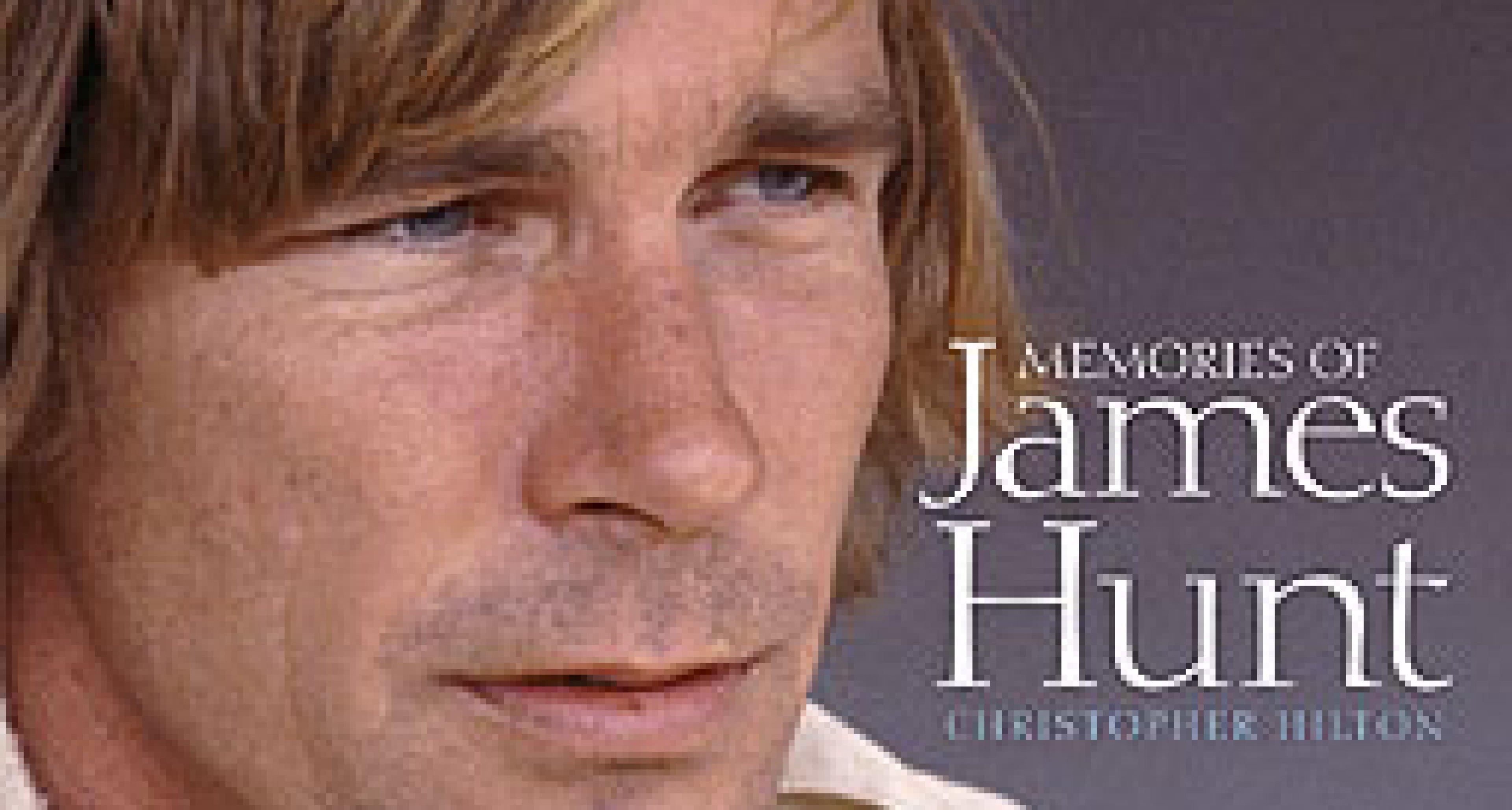 Book Review - 'Memories of James Hunt'