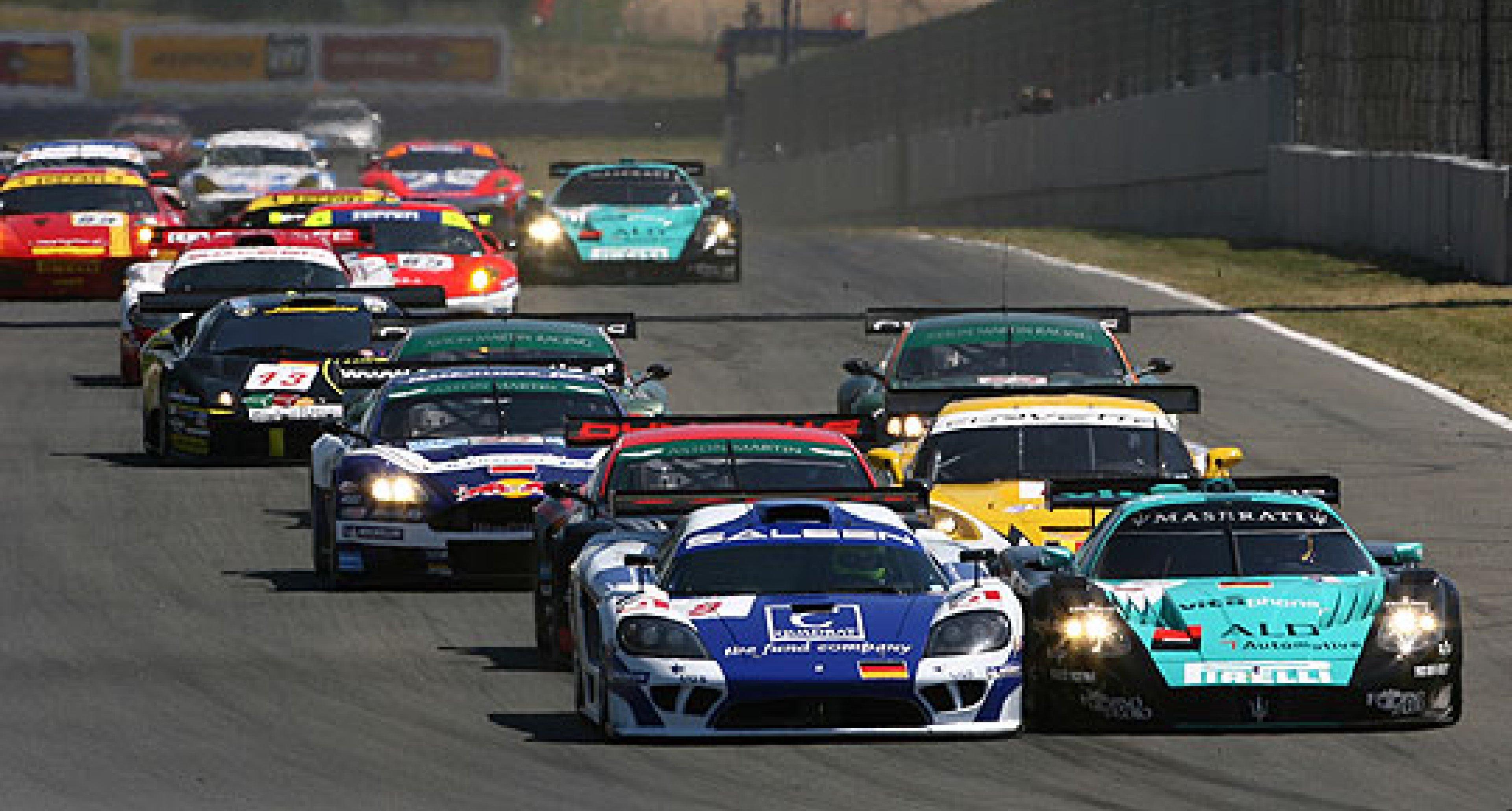 Victory for Maserati in FIA GT at Oschersleben