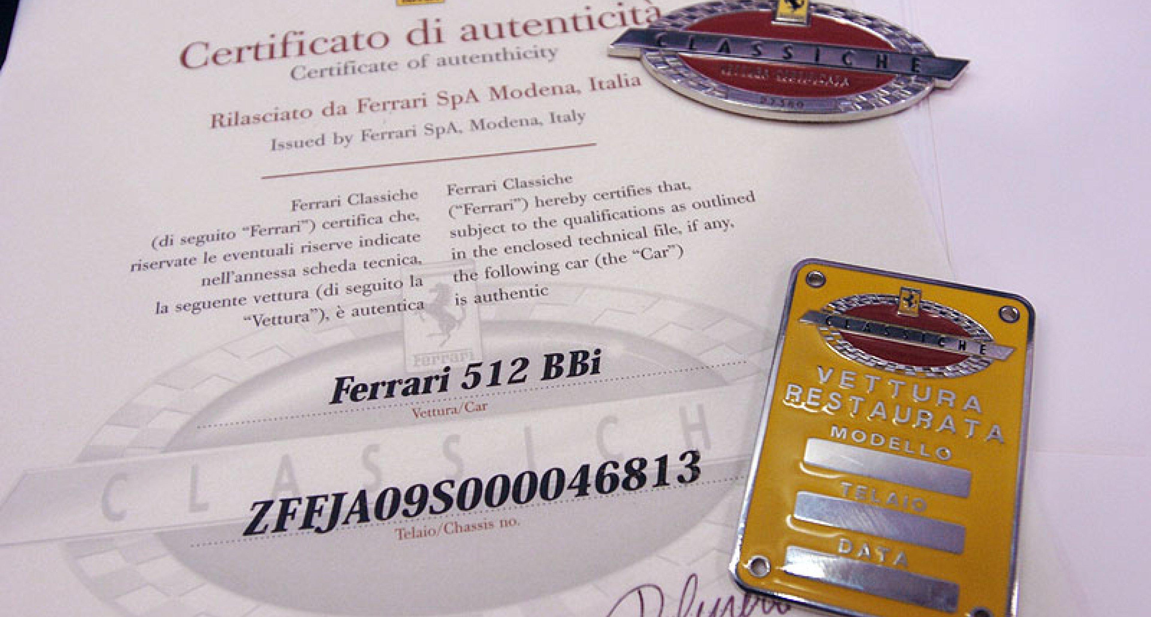 The New Ferrari Classiche Division Classic Driver Magazine