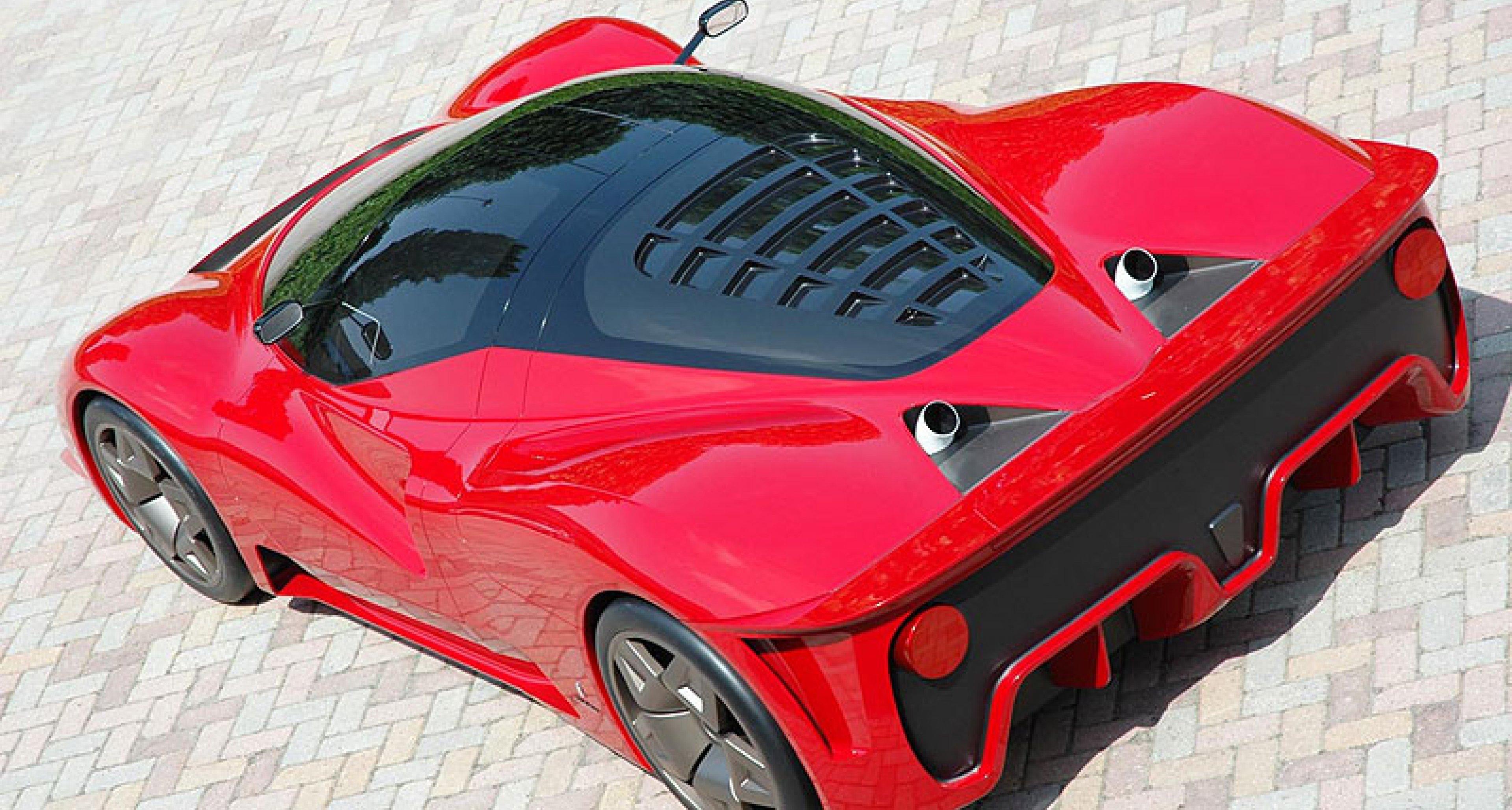 Ferrari P45 By Pininfarina At Pebble Beach 2006 Classic