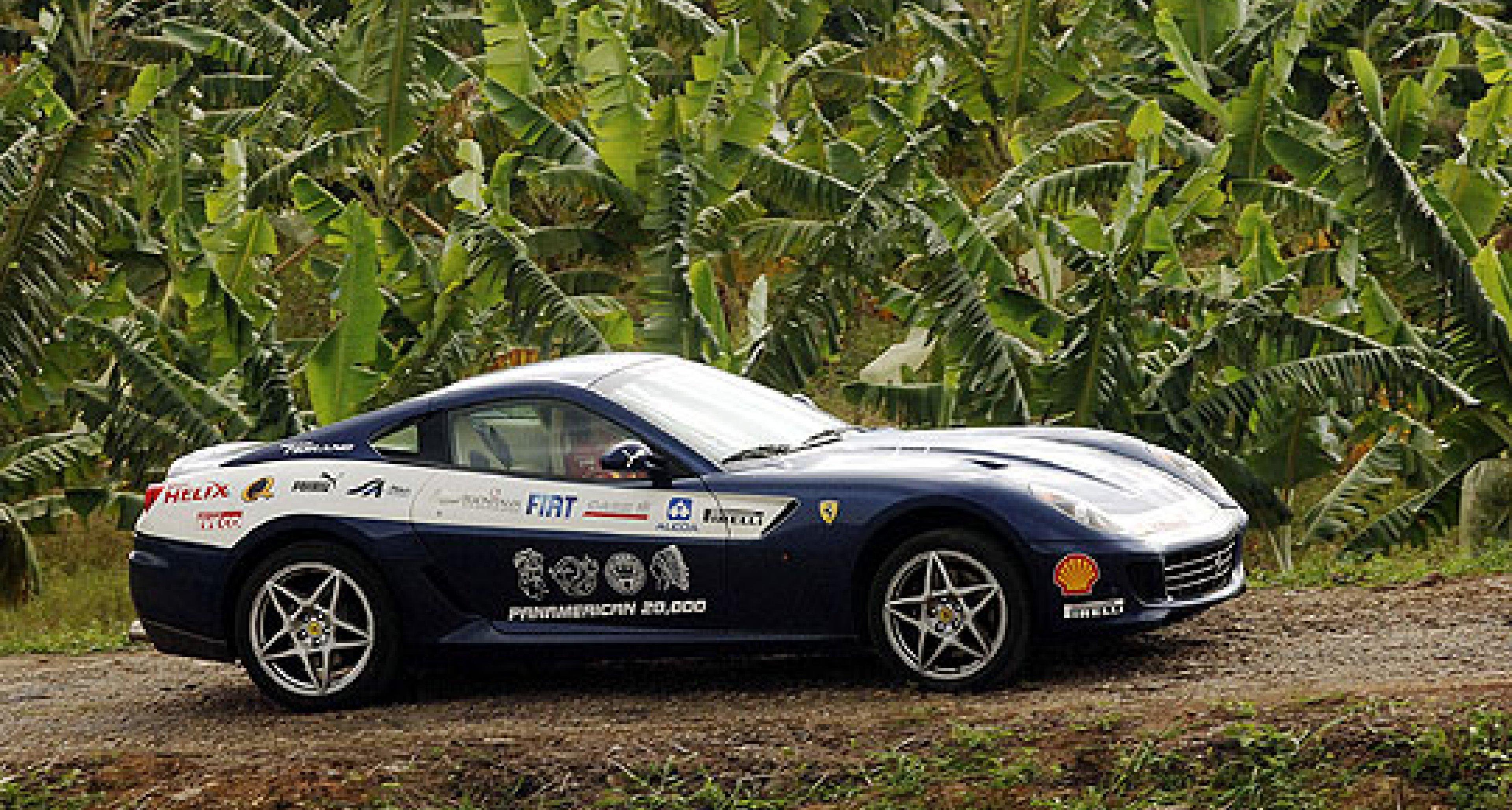 The Ferrari Panamerican 20,000 - the journey begins