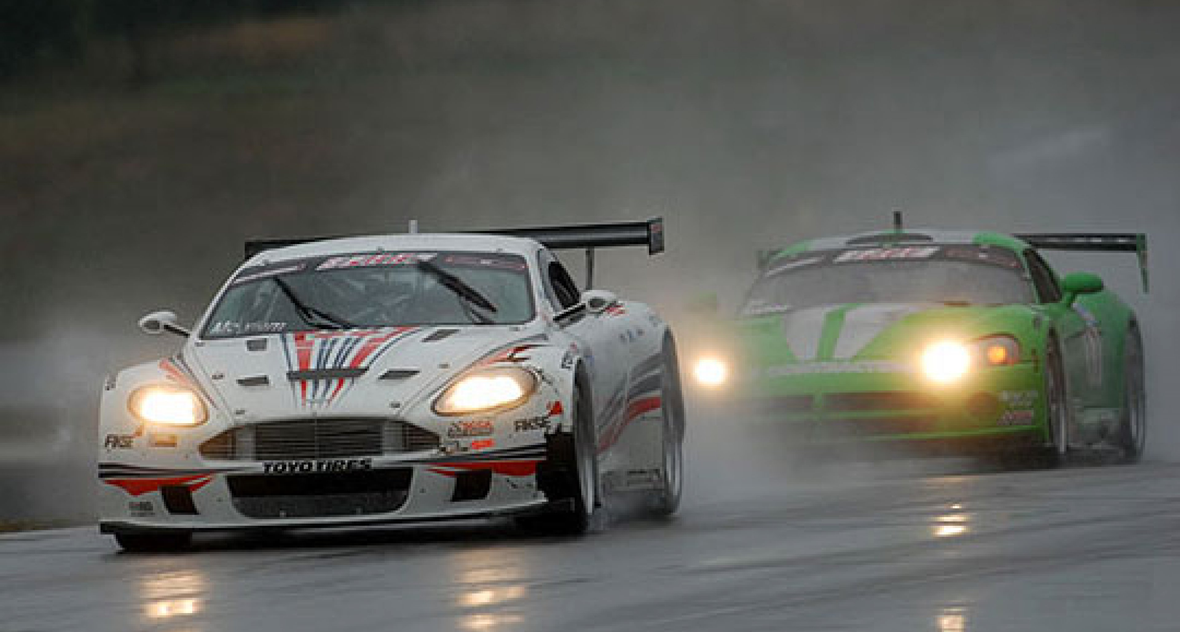 Autosport Designs Aston Martin DBRS9s at Mosport 2006