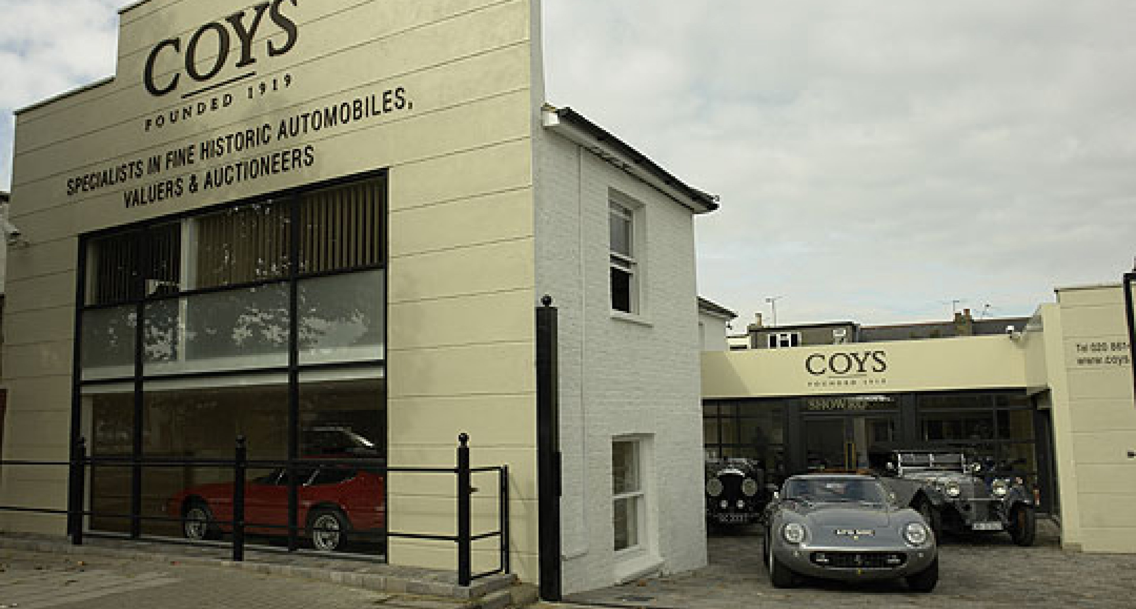 Coys – Retailer and Auction House