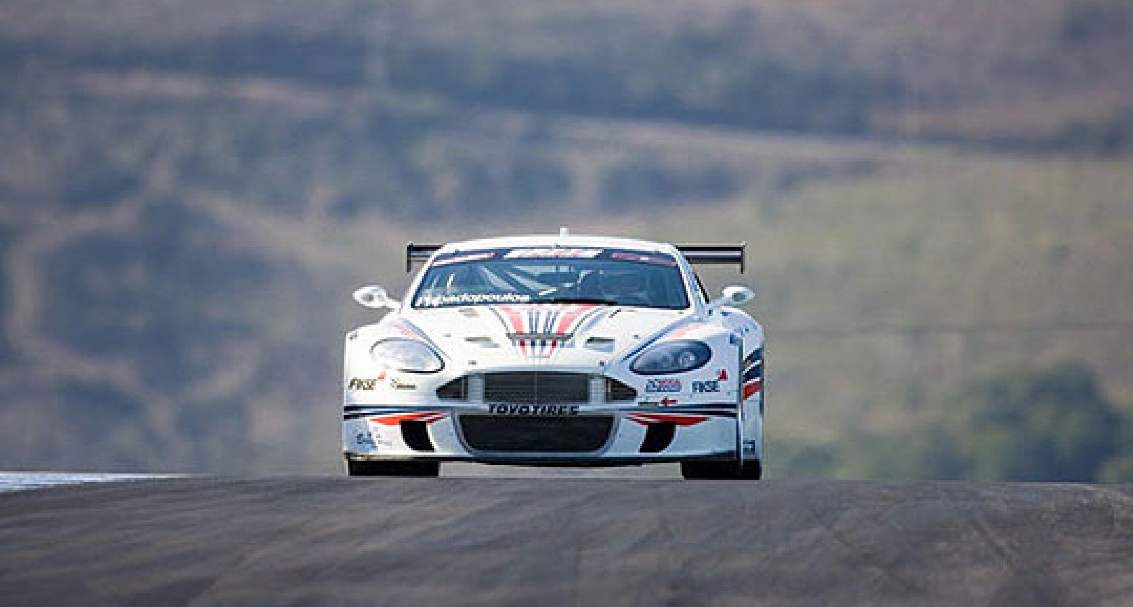 Autosport Designs Aston Martin DBRS9s at Laguna Seca 2006
