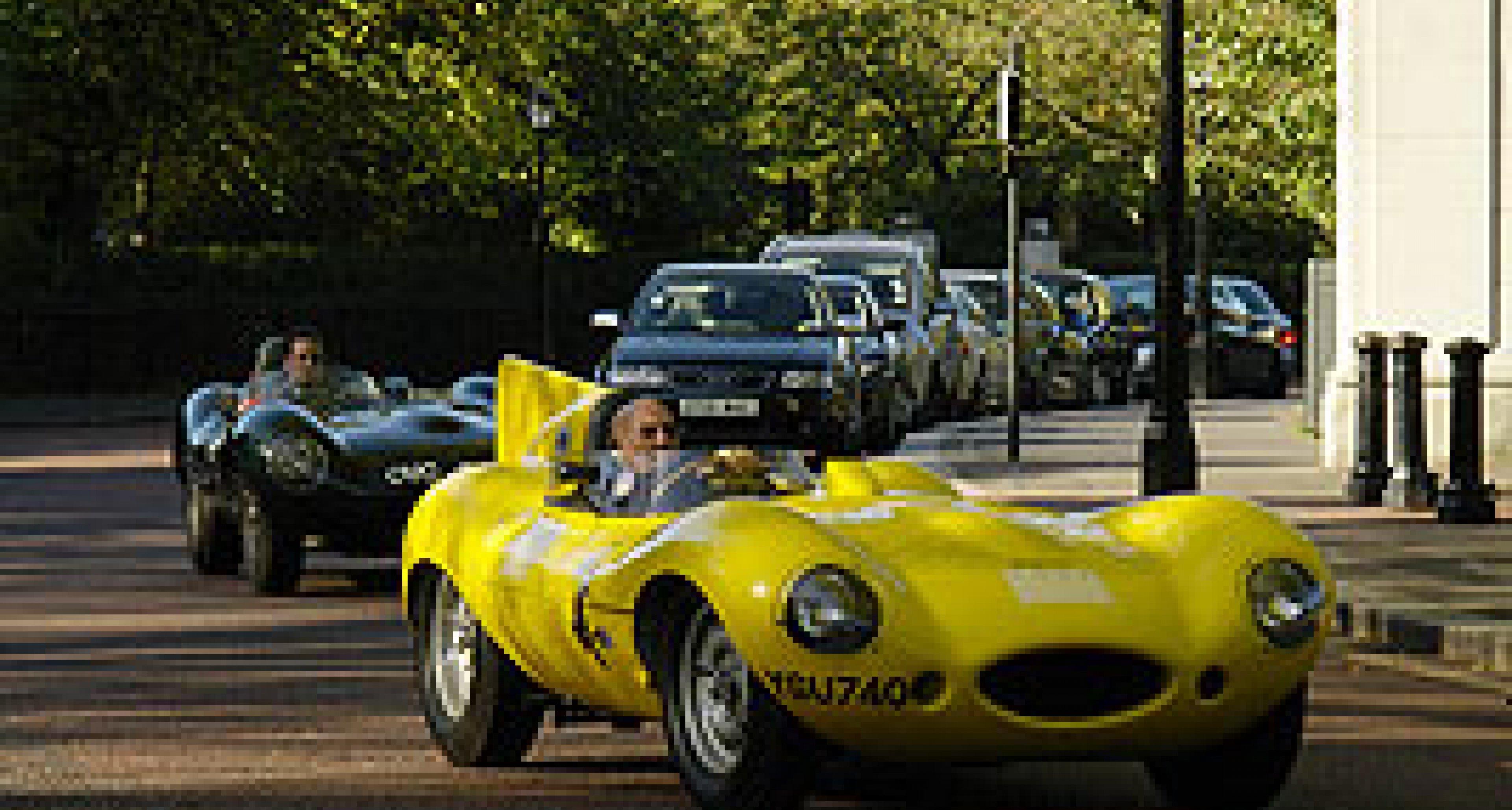 Jaguars loose in London