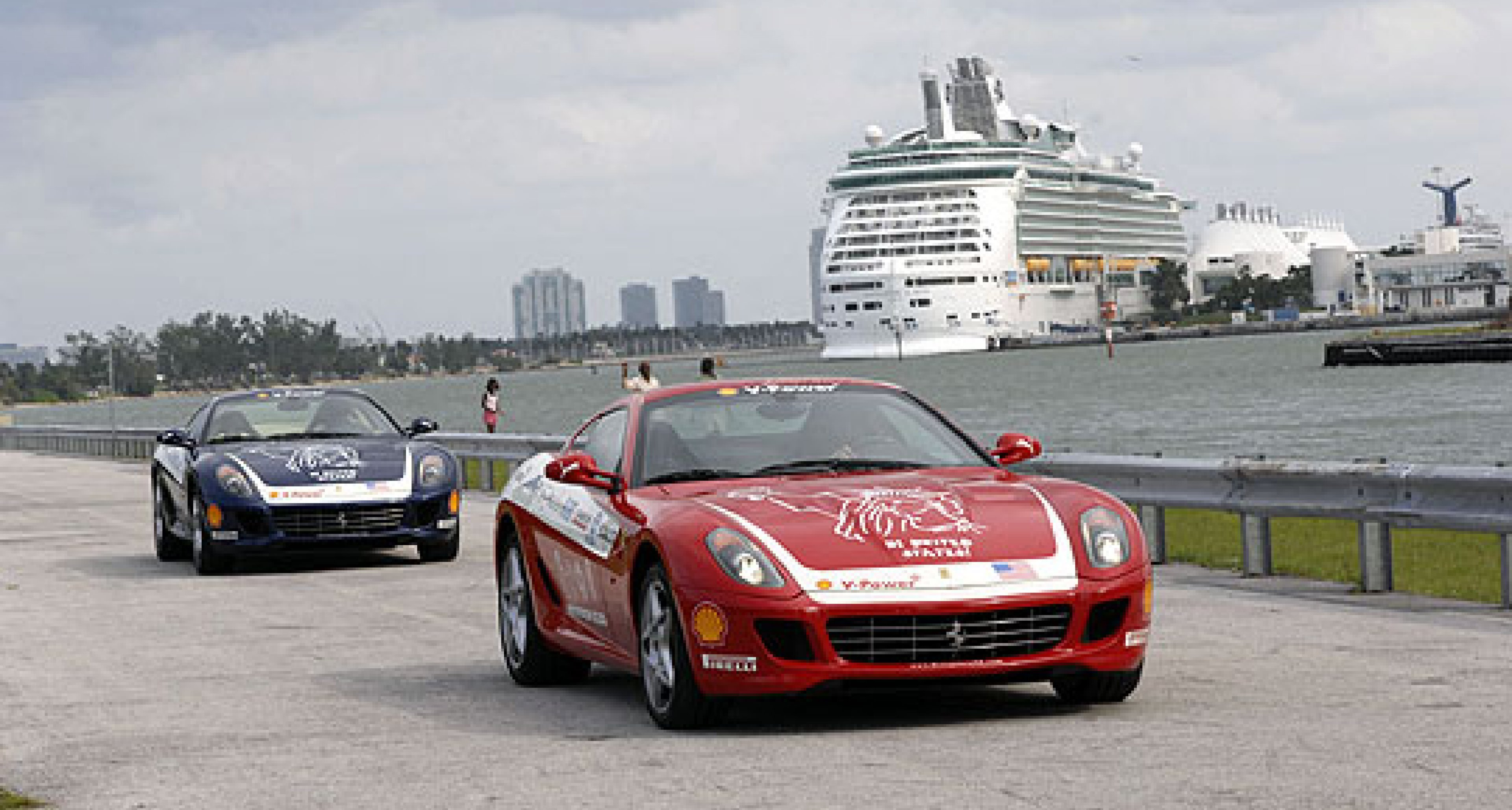 Ferrari Panamerican 20,000 - to the capital of the United States
