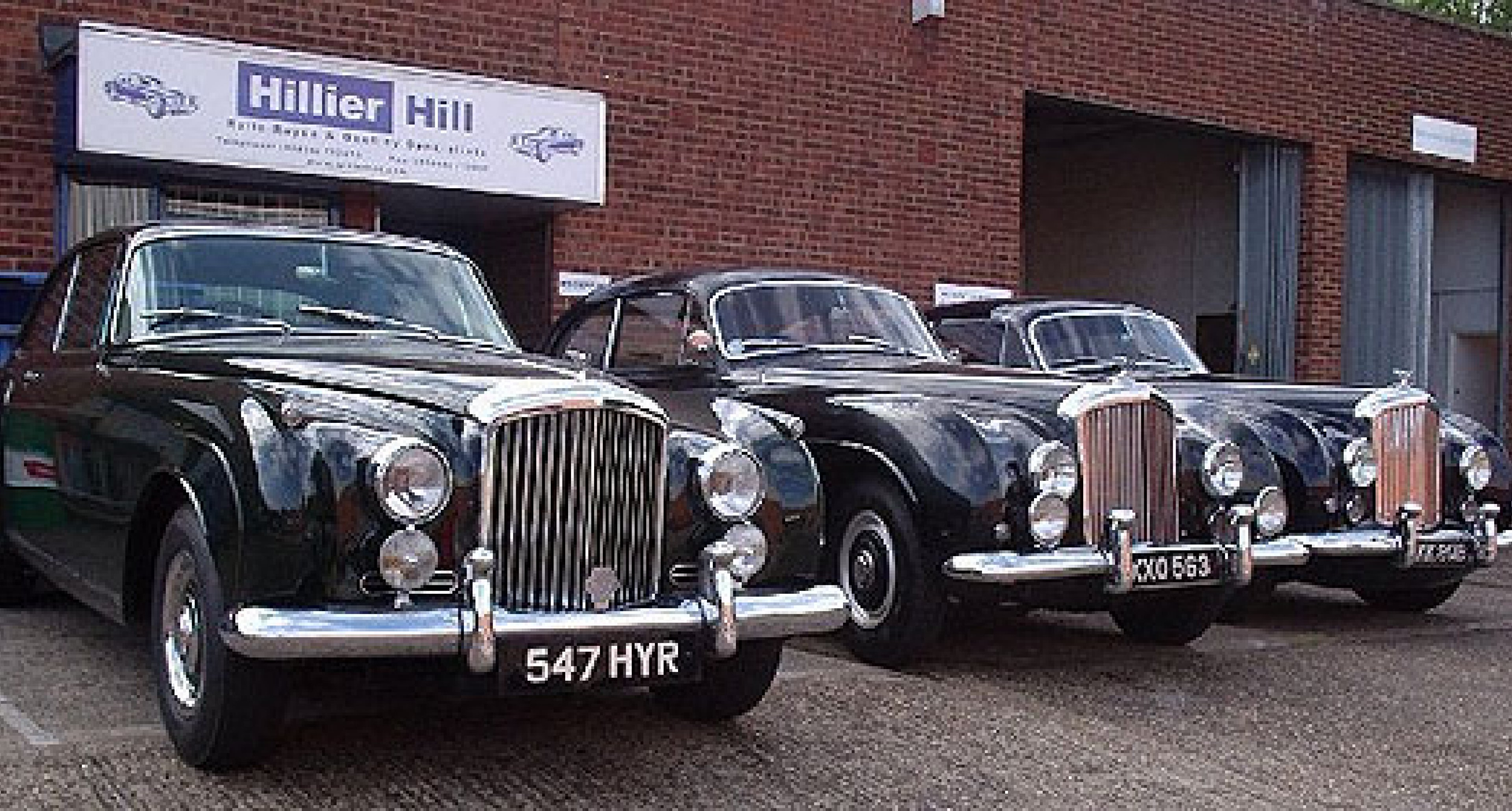 Classic Driver Dealer: Hillier Hill