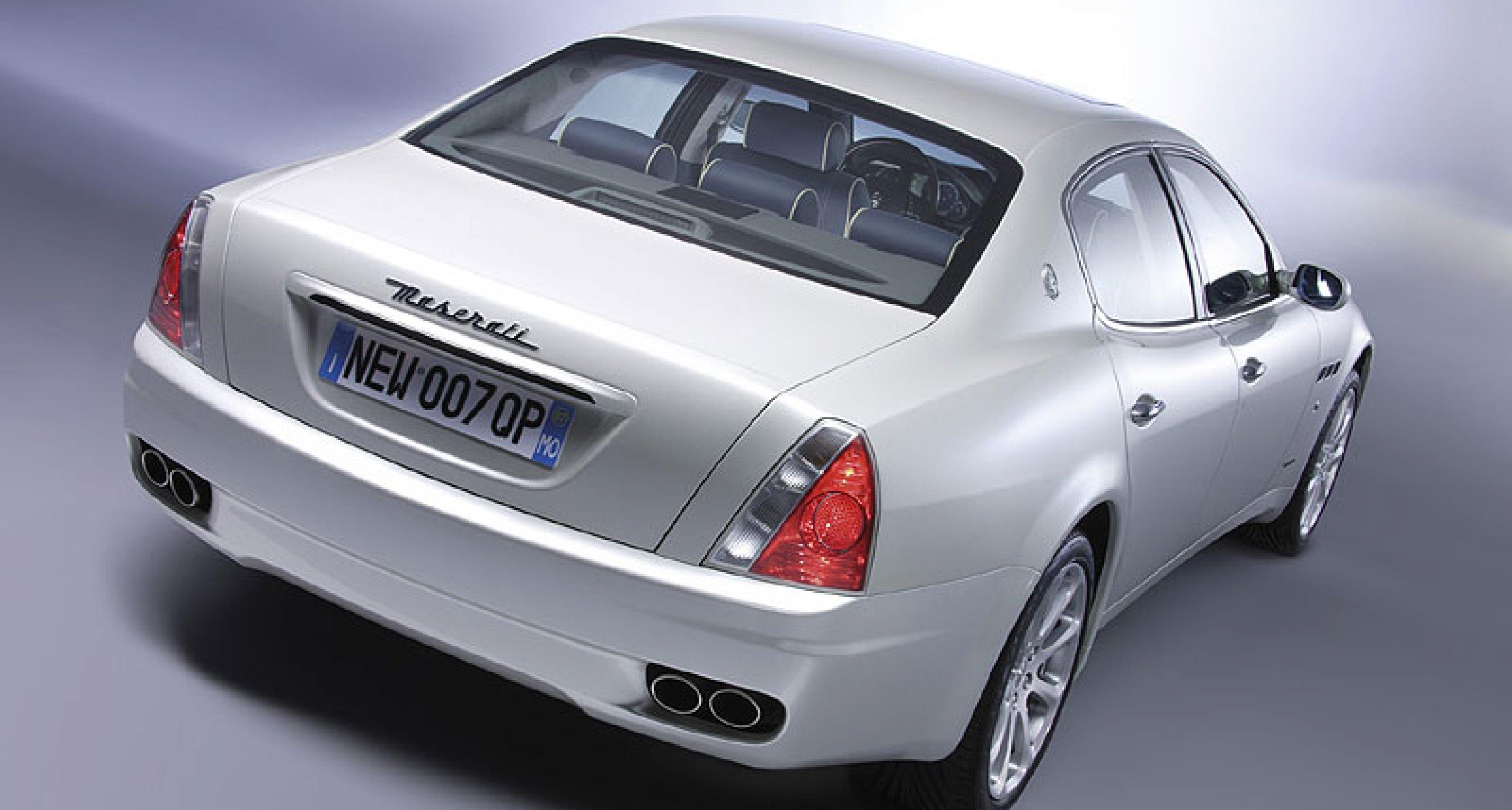 The Maserati Quattroporte Automatic