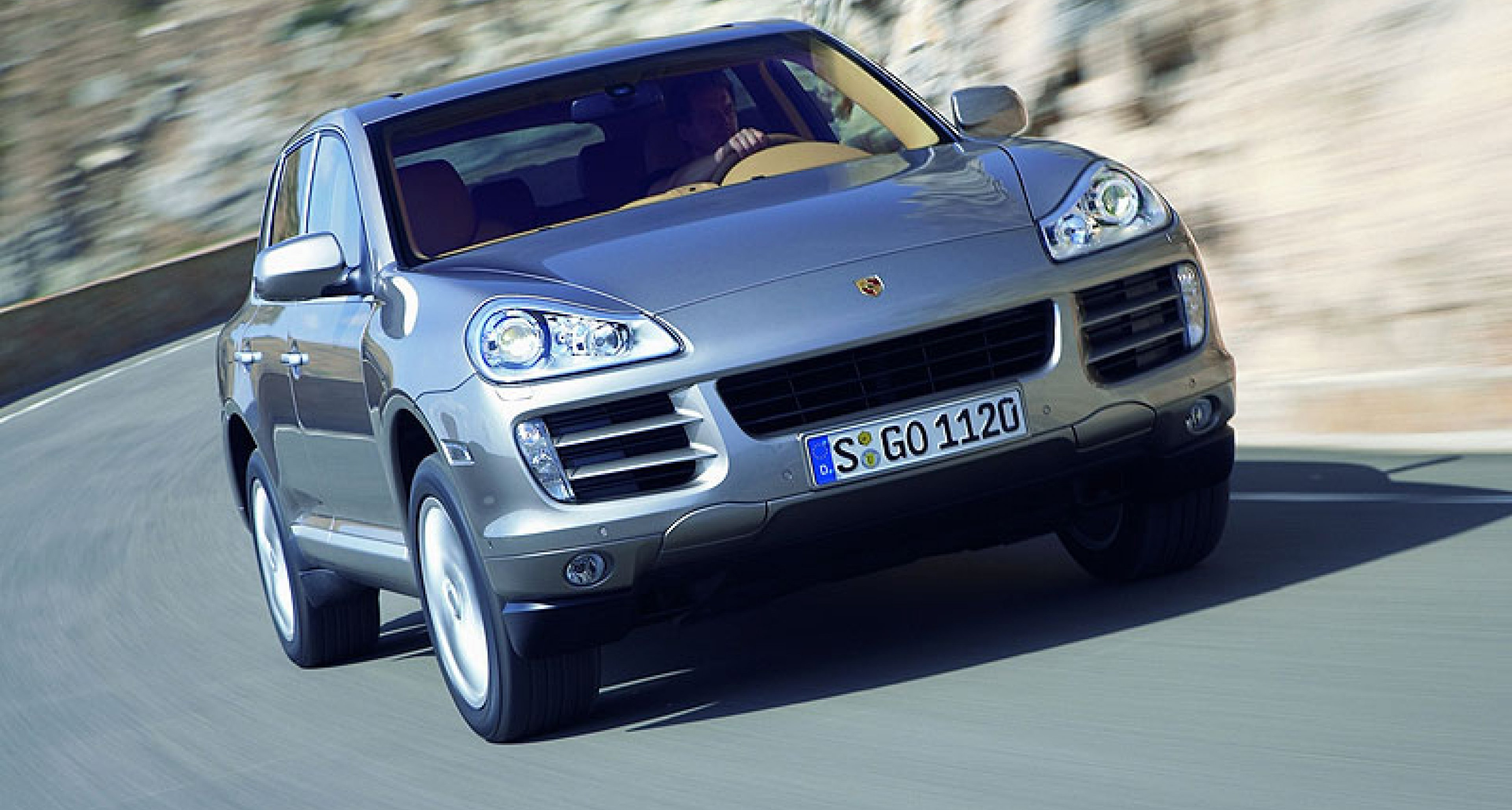 Facelift for Porsche Cayenne