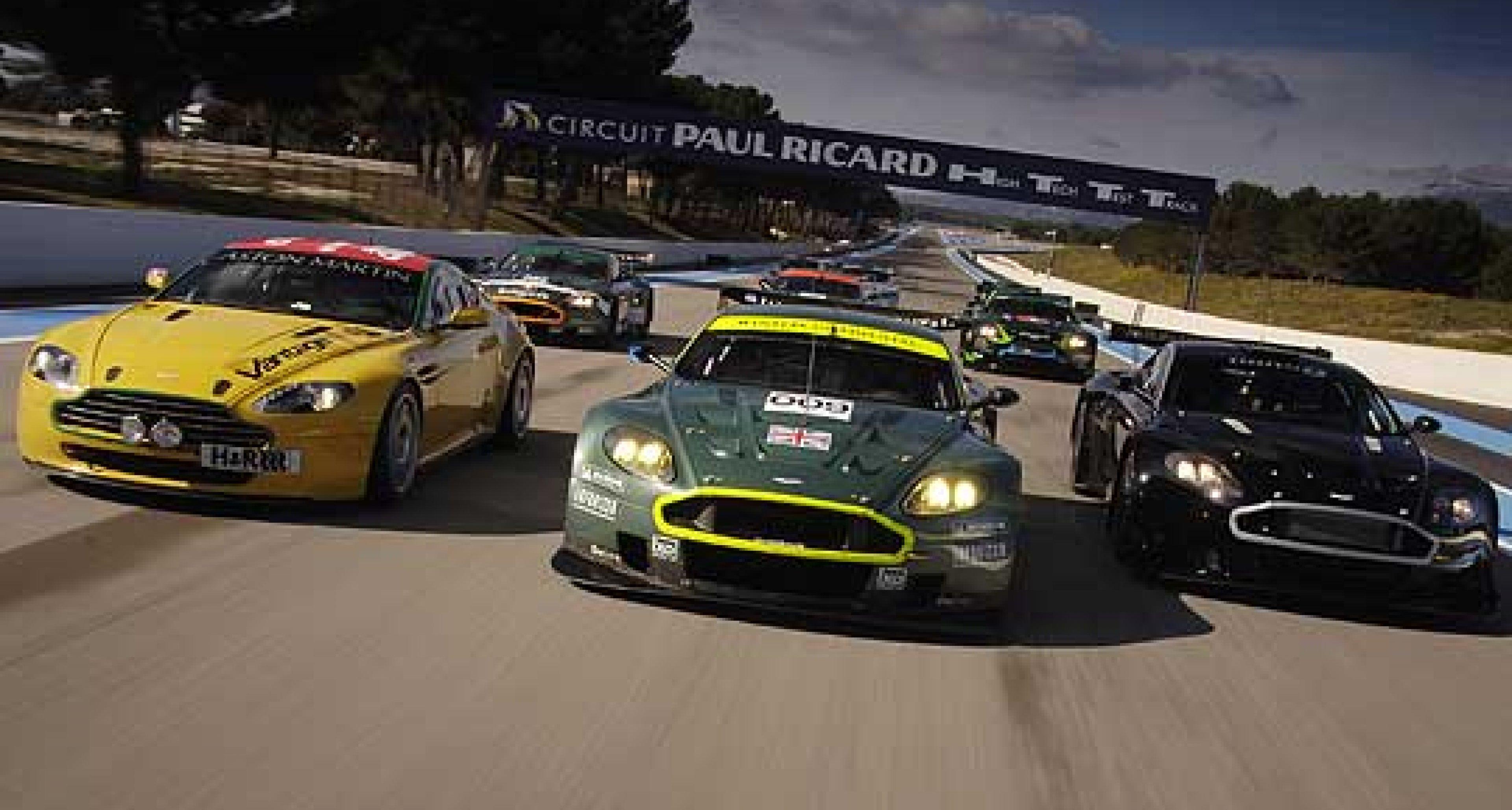 Multi-car  Aston Martin Winter Test