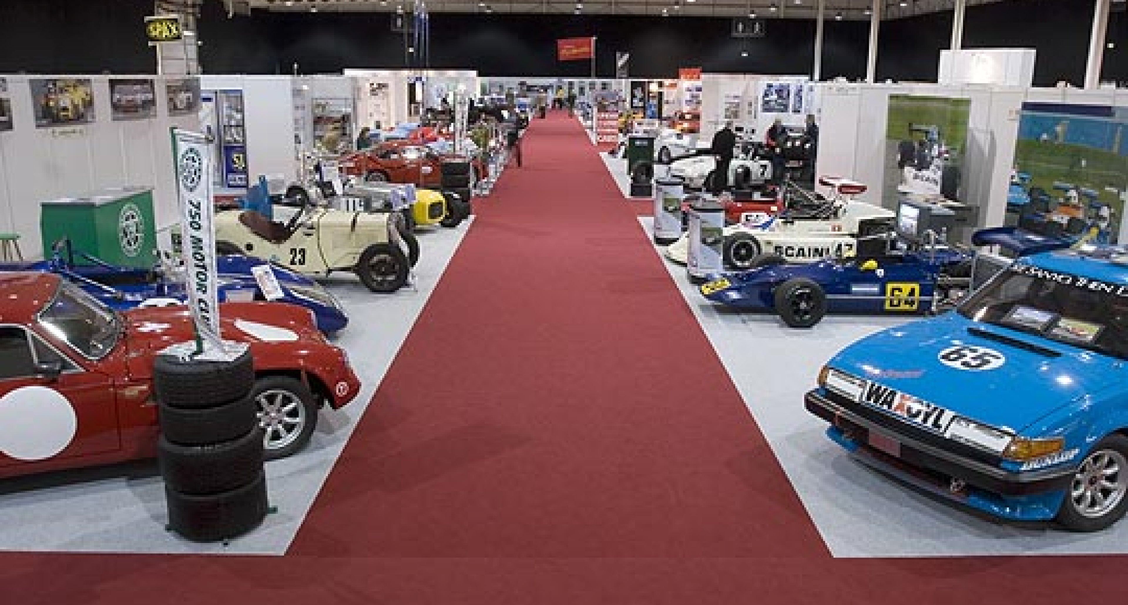 Varied Attractions at Race Retro