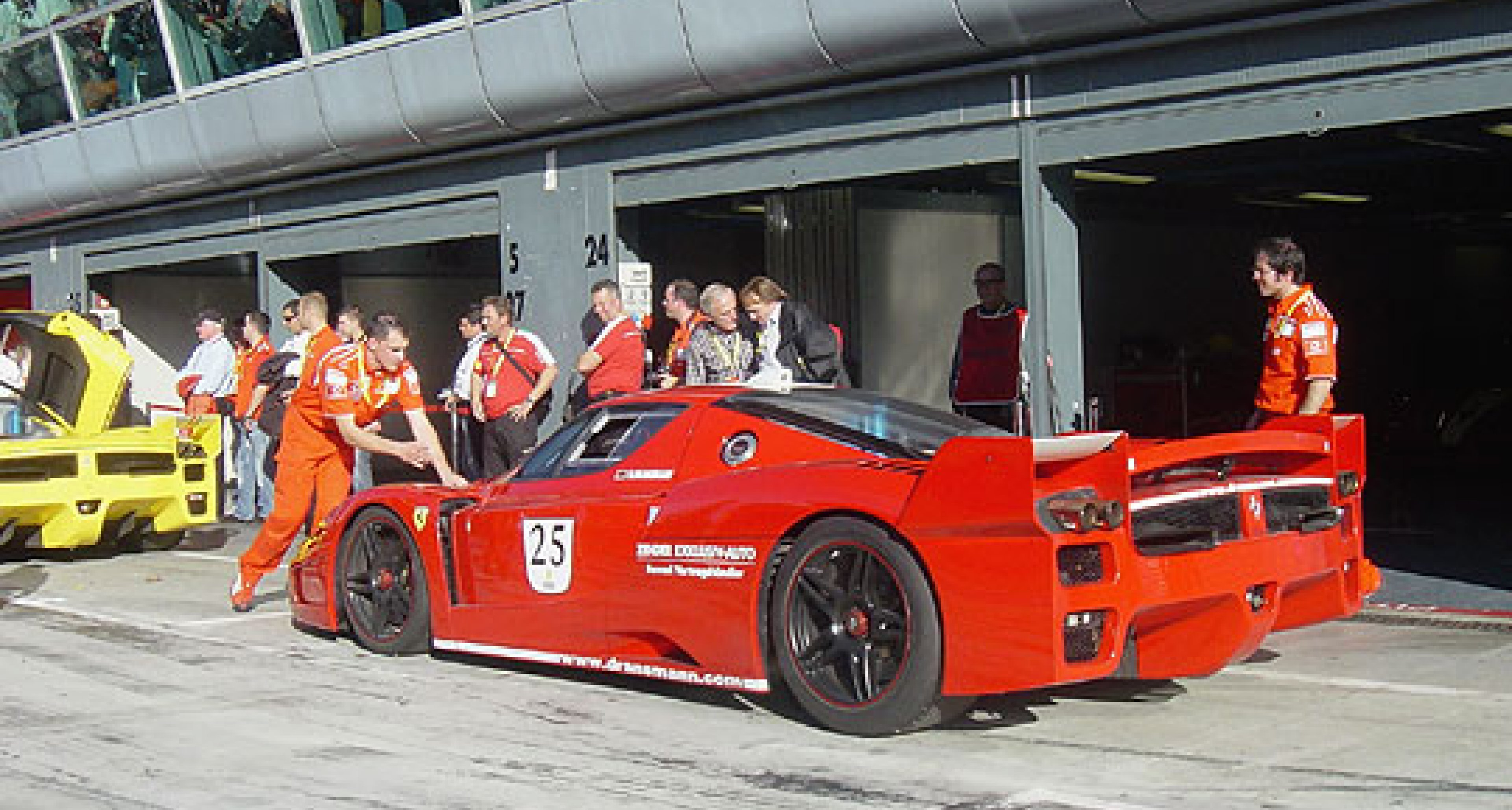 Ferrari Racing Days at Silverstone 2007 – Your Chance to Help Set a New Guinness World Record
