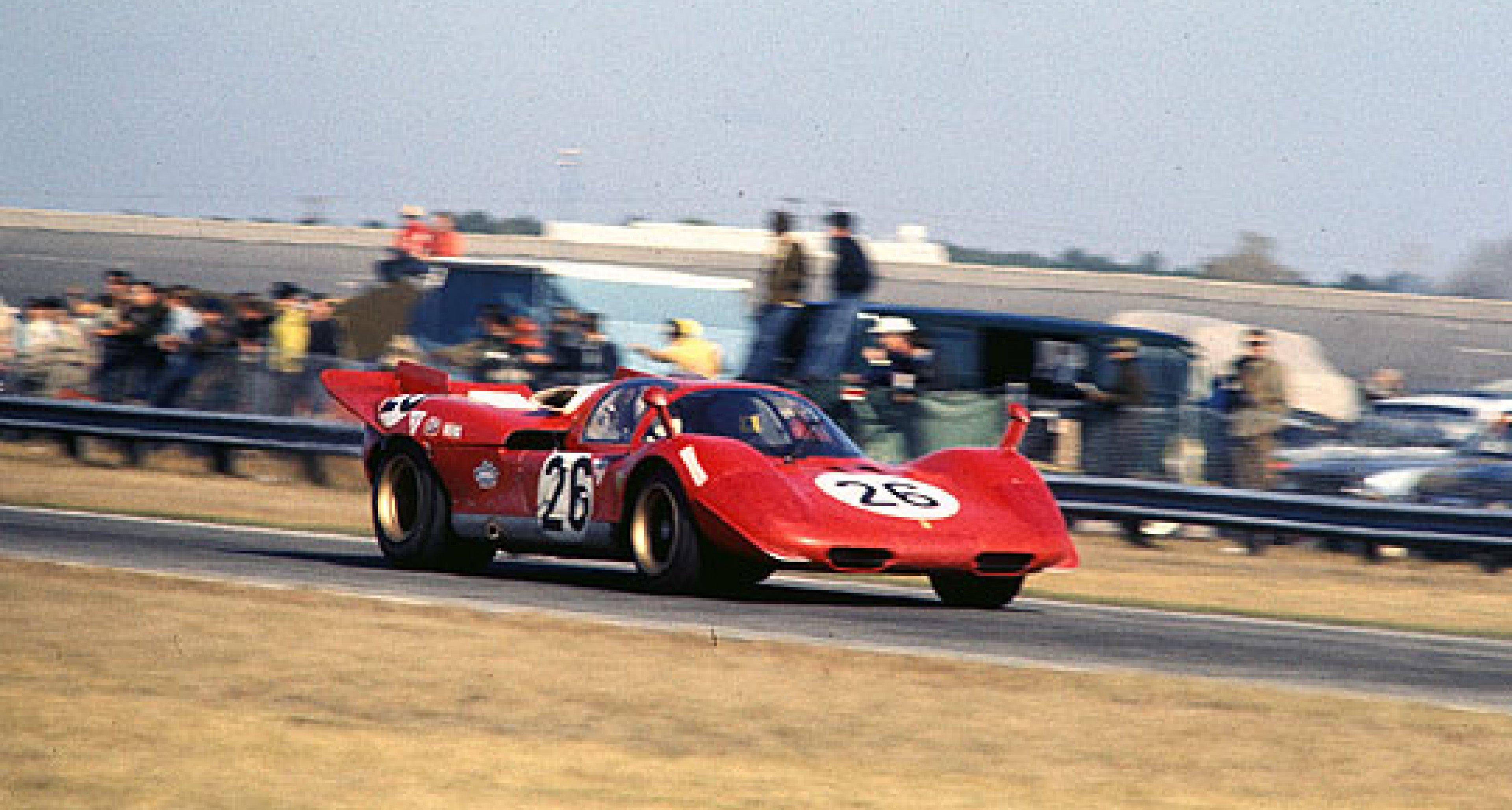 Rare sports-prototype Ferrari comes to the market