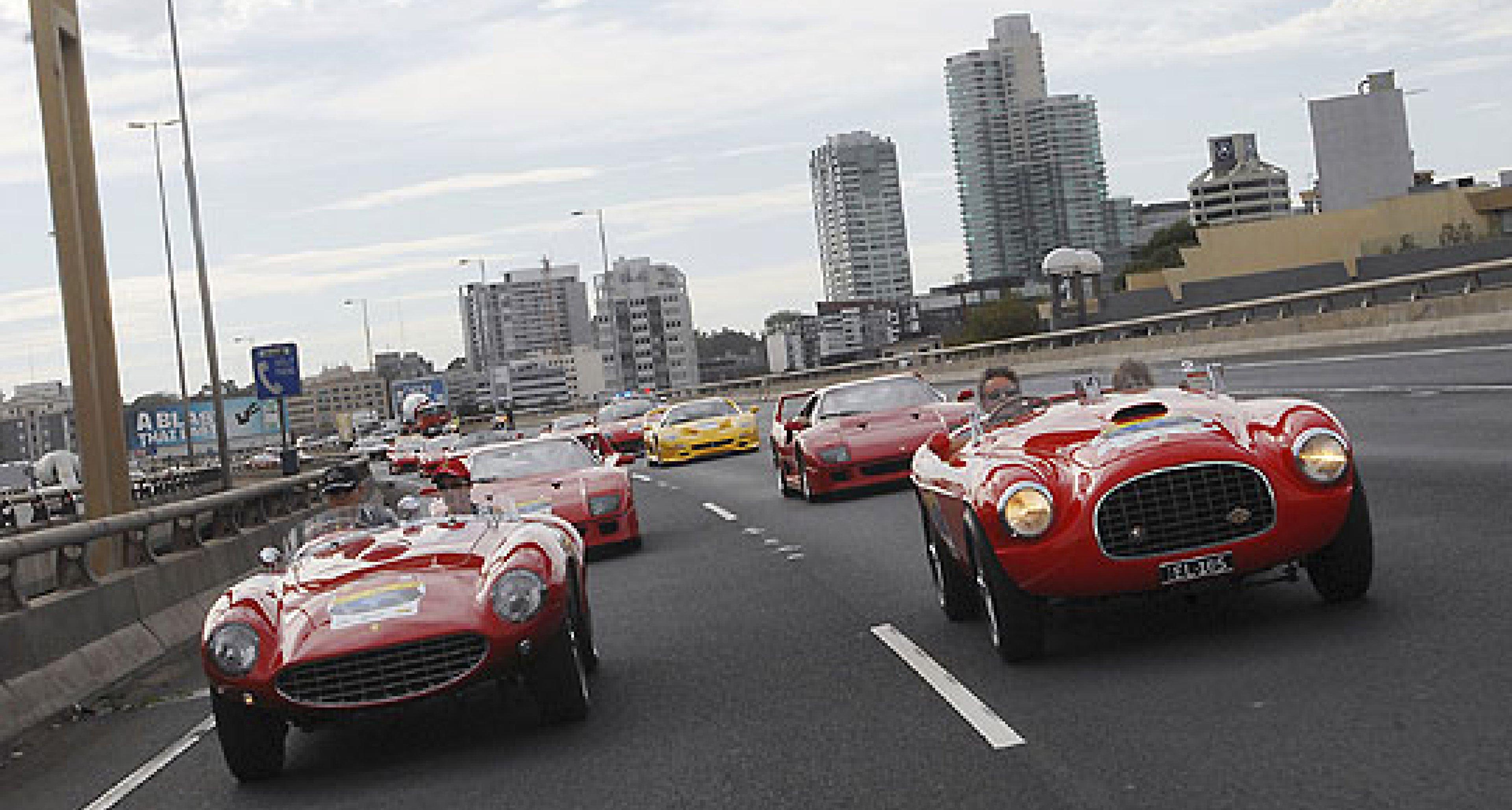 Progress of the Ferrari 60 Relay: