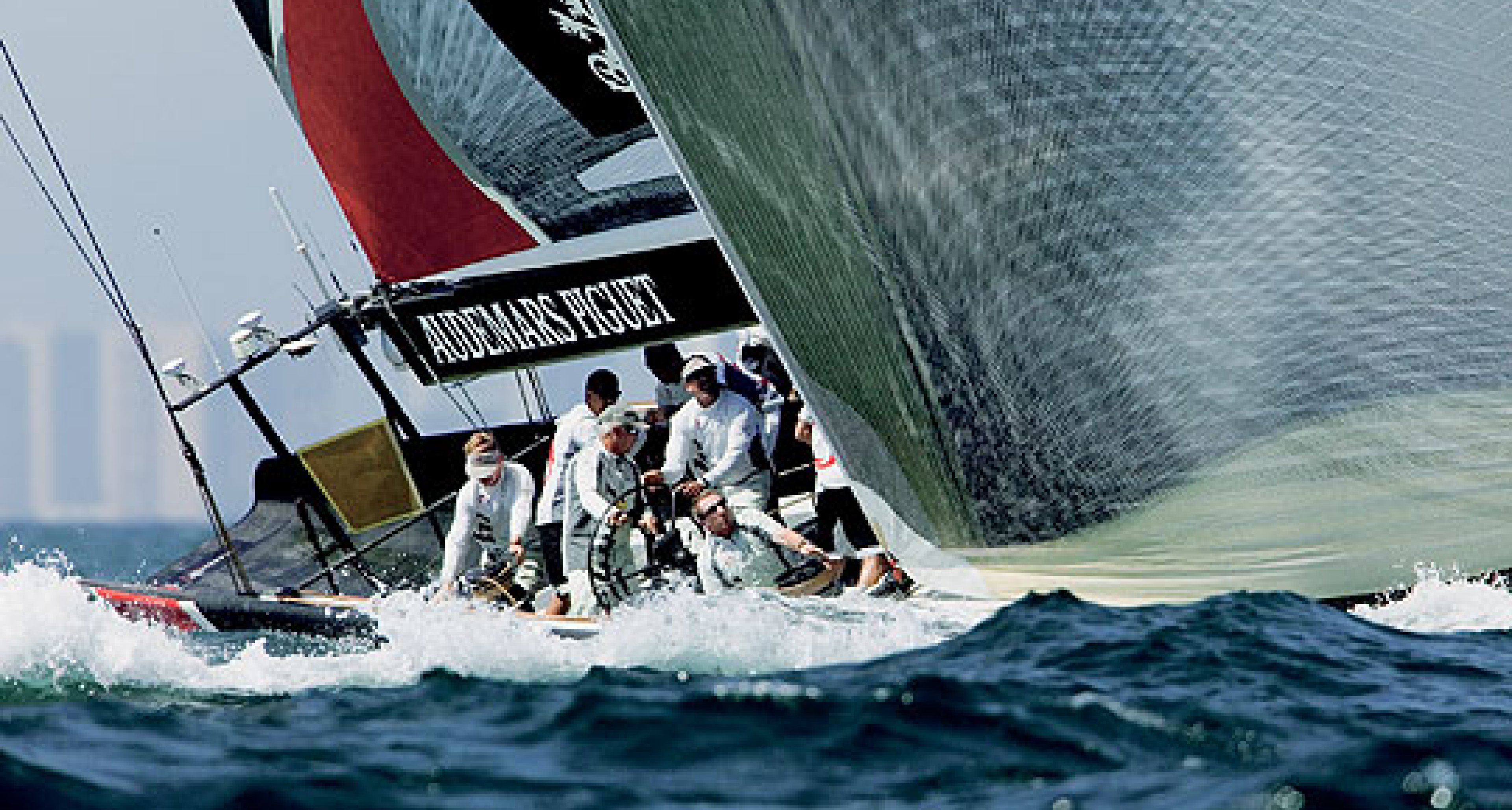 Audemars Piguet, Alinghi and the 32nd America's Cup