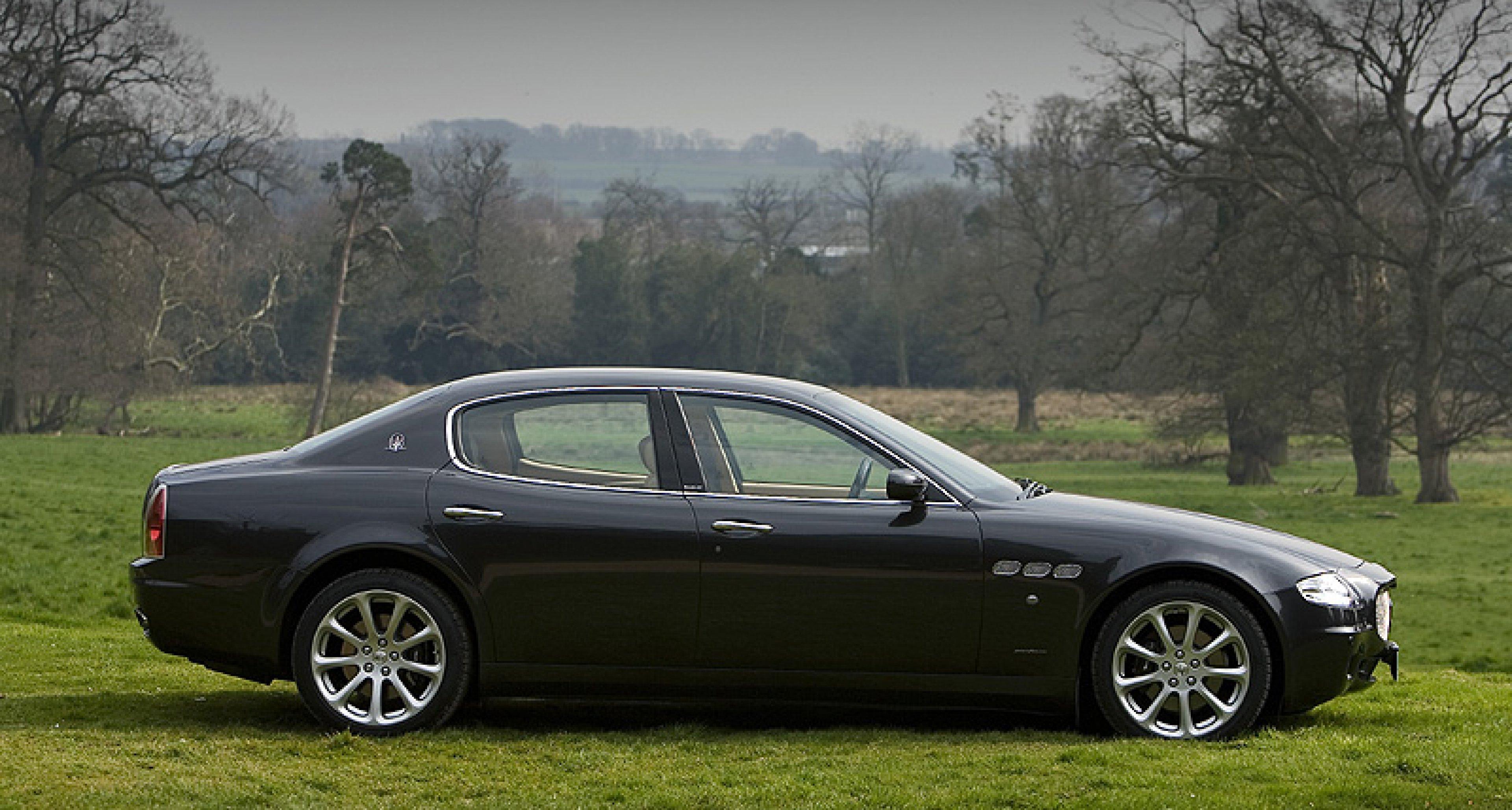 The 2007 Maserati Quattroporte