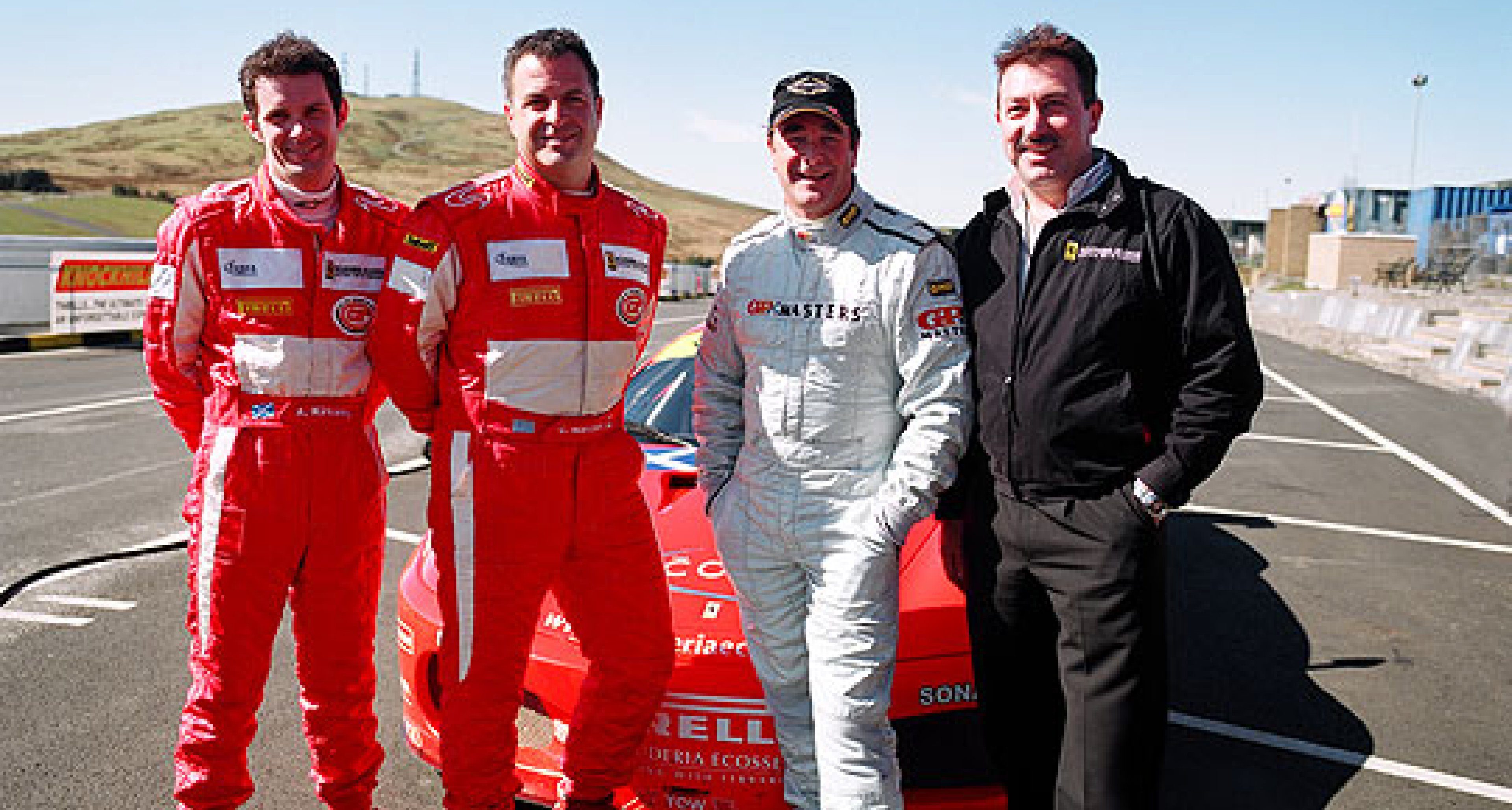 Mansell to Race Ferrari at Silverstone