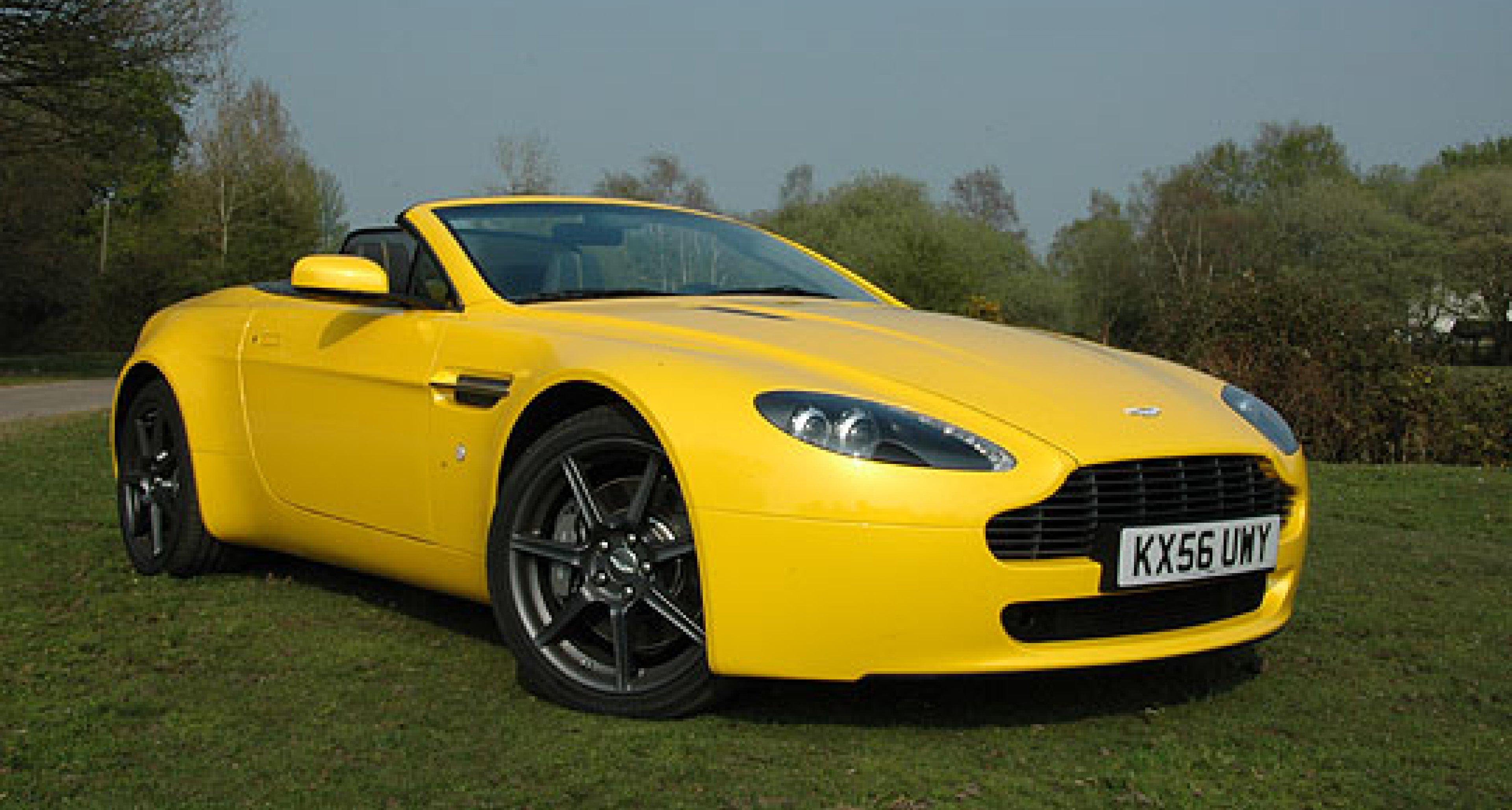 Aston Martin V8 Roadster Sportshift Classic Driver Magazine