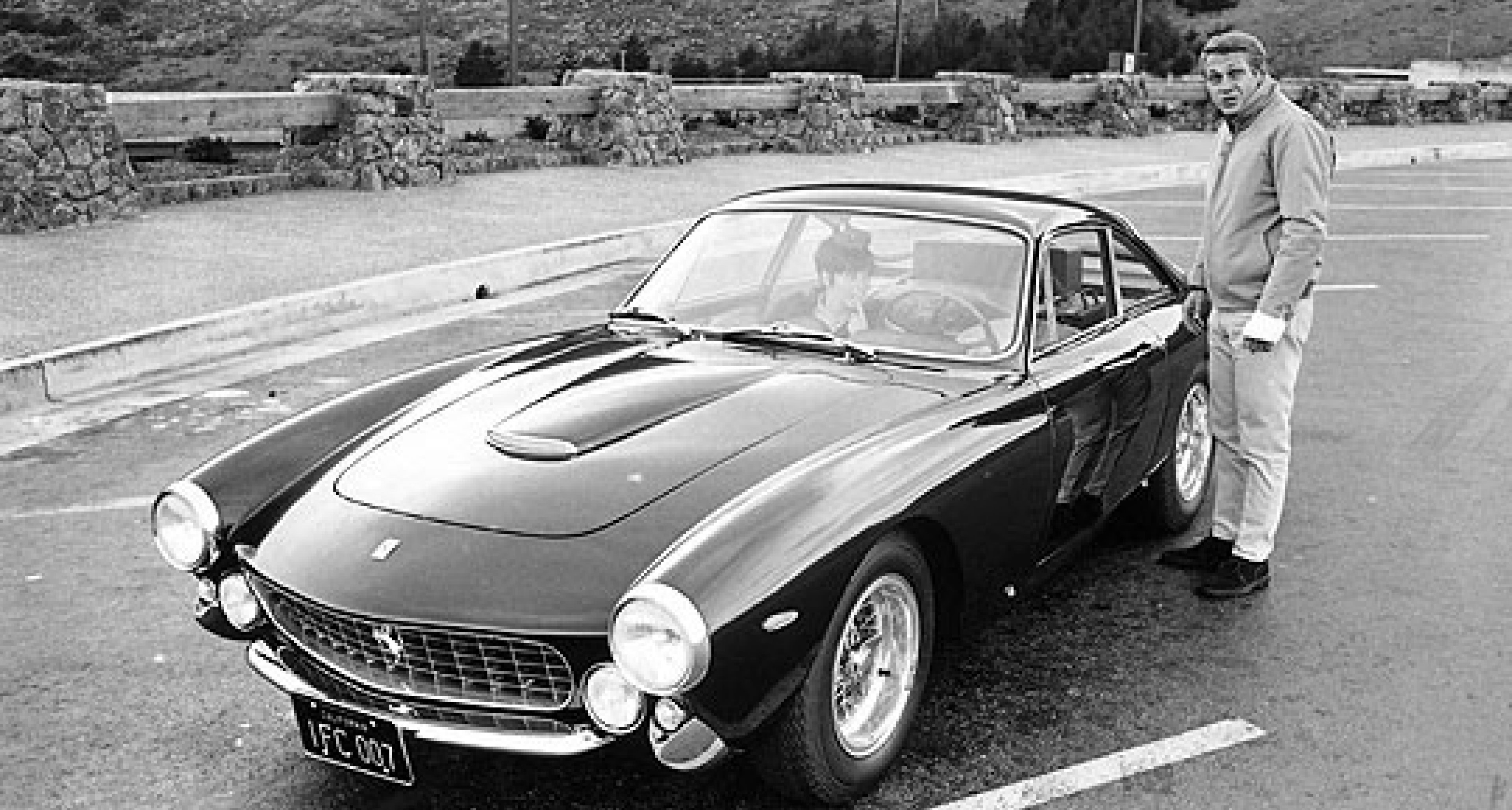Ex-Steve McQueen Lusso to be sold at Monterey 2007