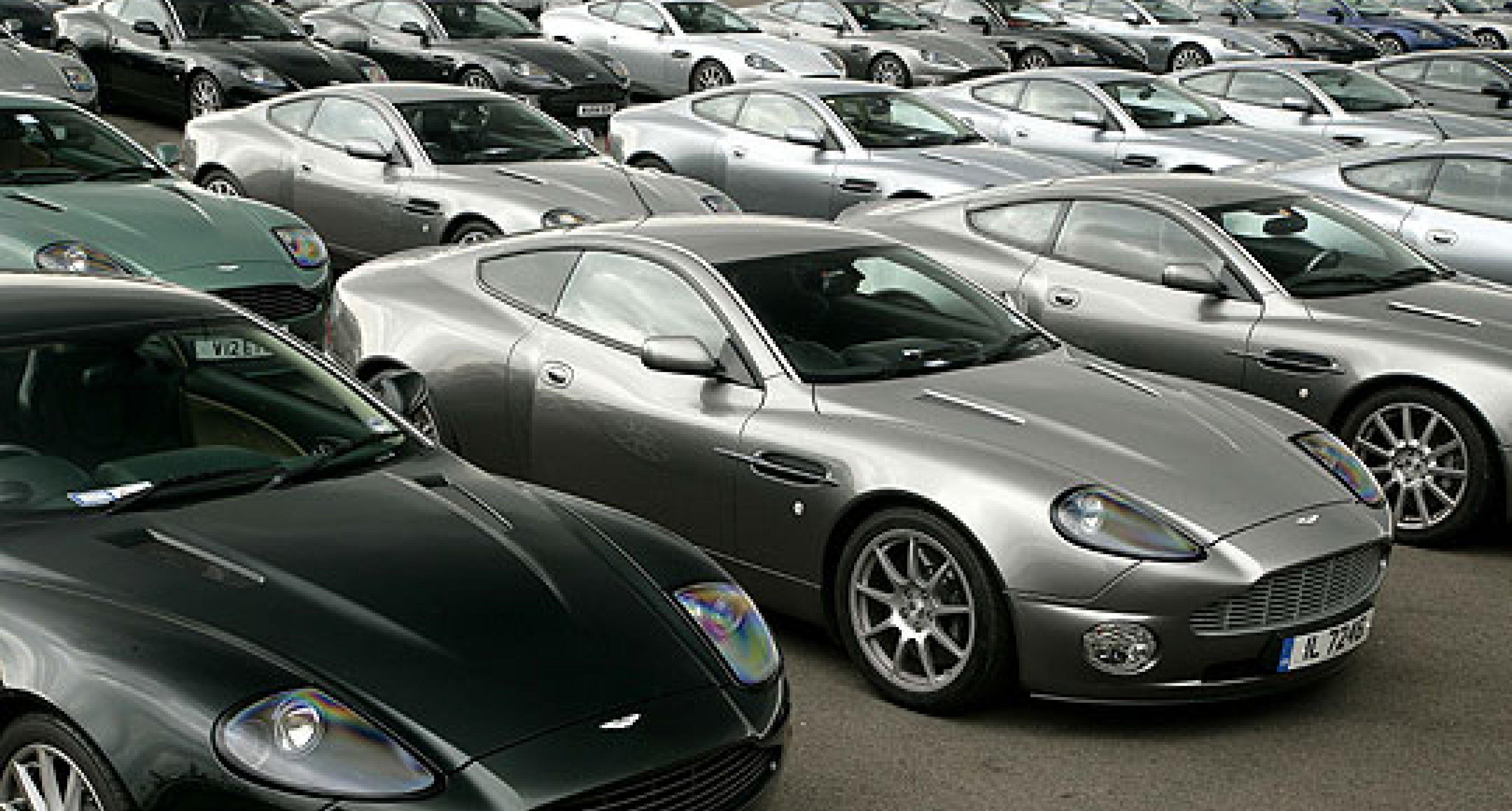 Aston Martin Vanquish Celebration Day 6 May 2007