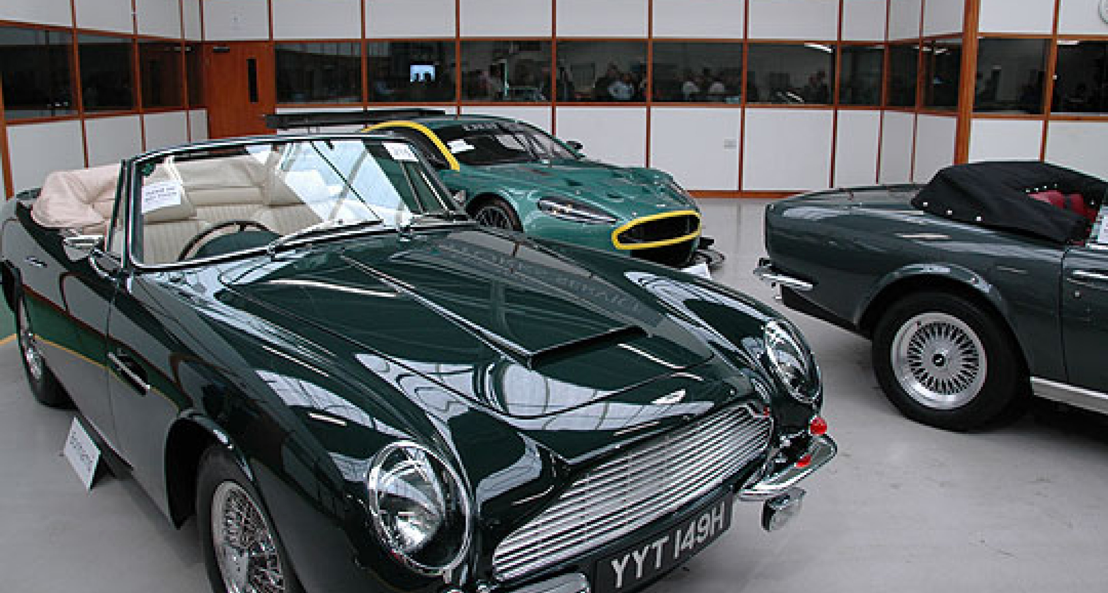 Bonhams Aston Martin Sale at Newport Pagnell -  12th May 2007 - Review
